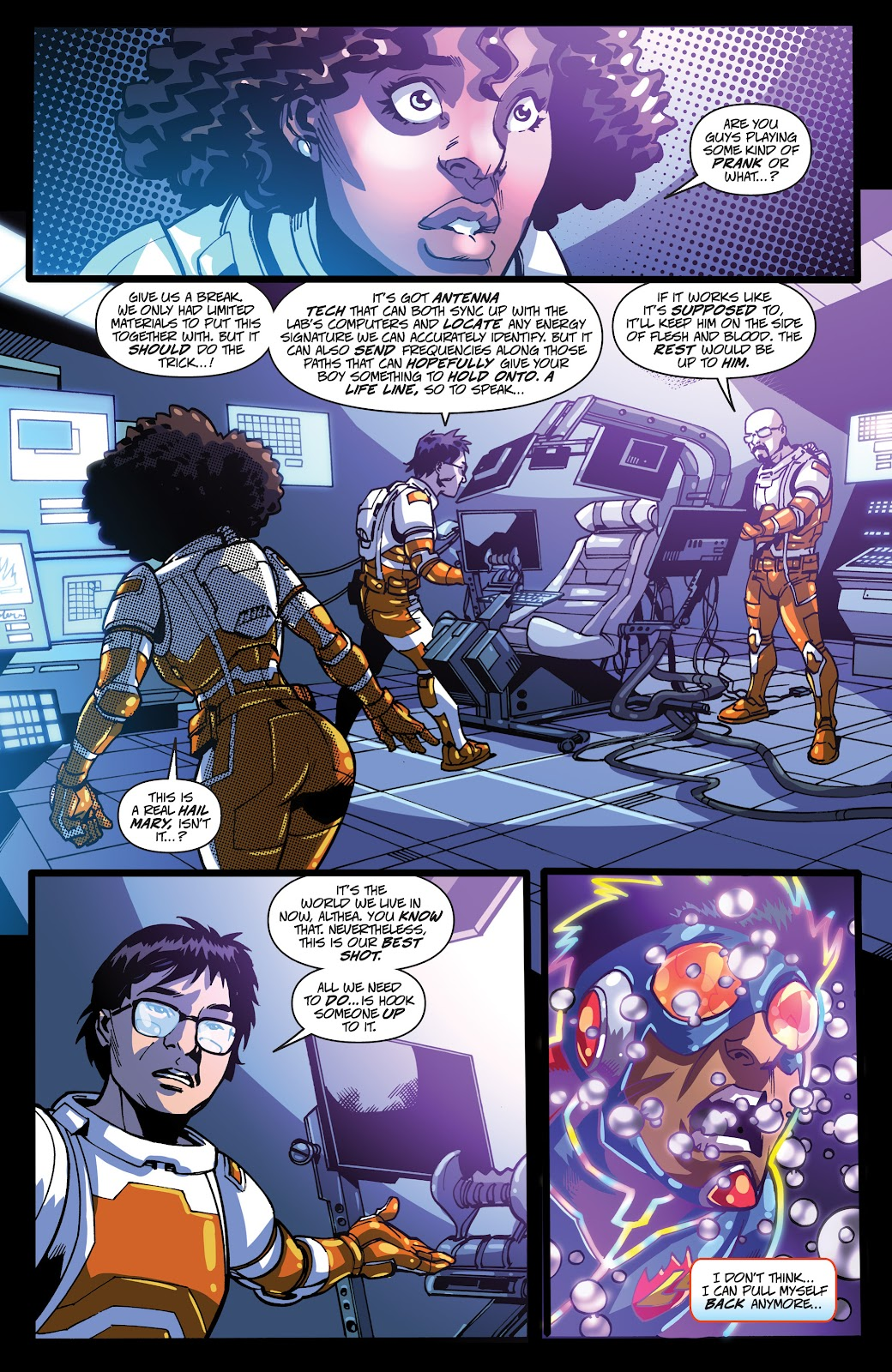 Read online Accell comic -  Issue #19 - 12