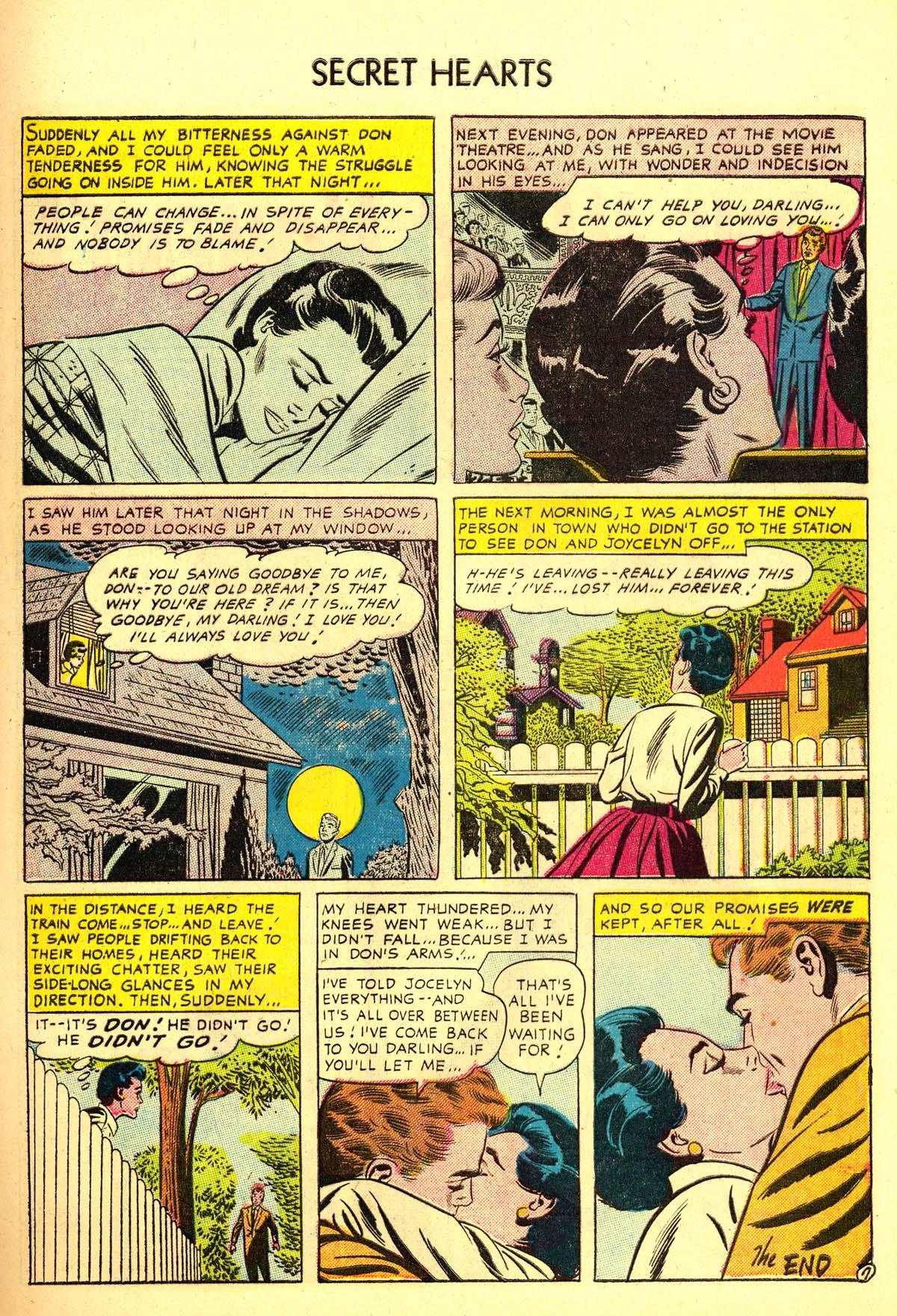 Read online Secret Hearts comic -  Issue #34 - 9