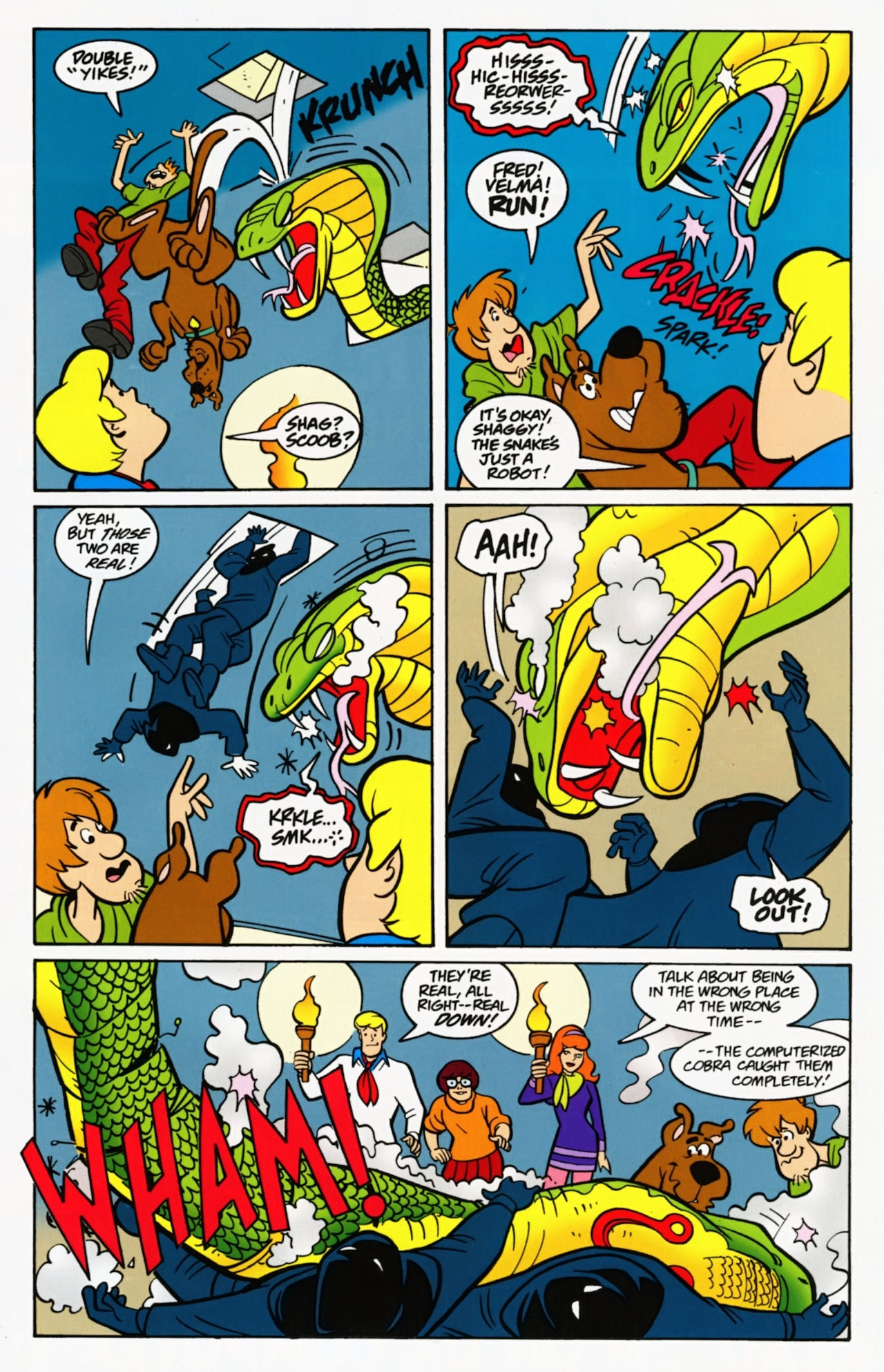 Read online Scooby-Doo: Where Are You? comic -  Issue #7 - 31