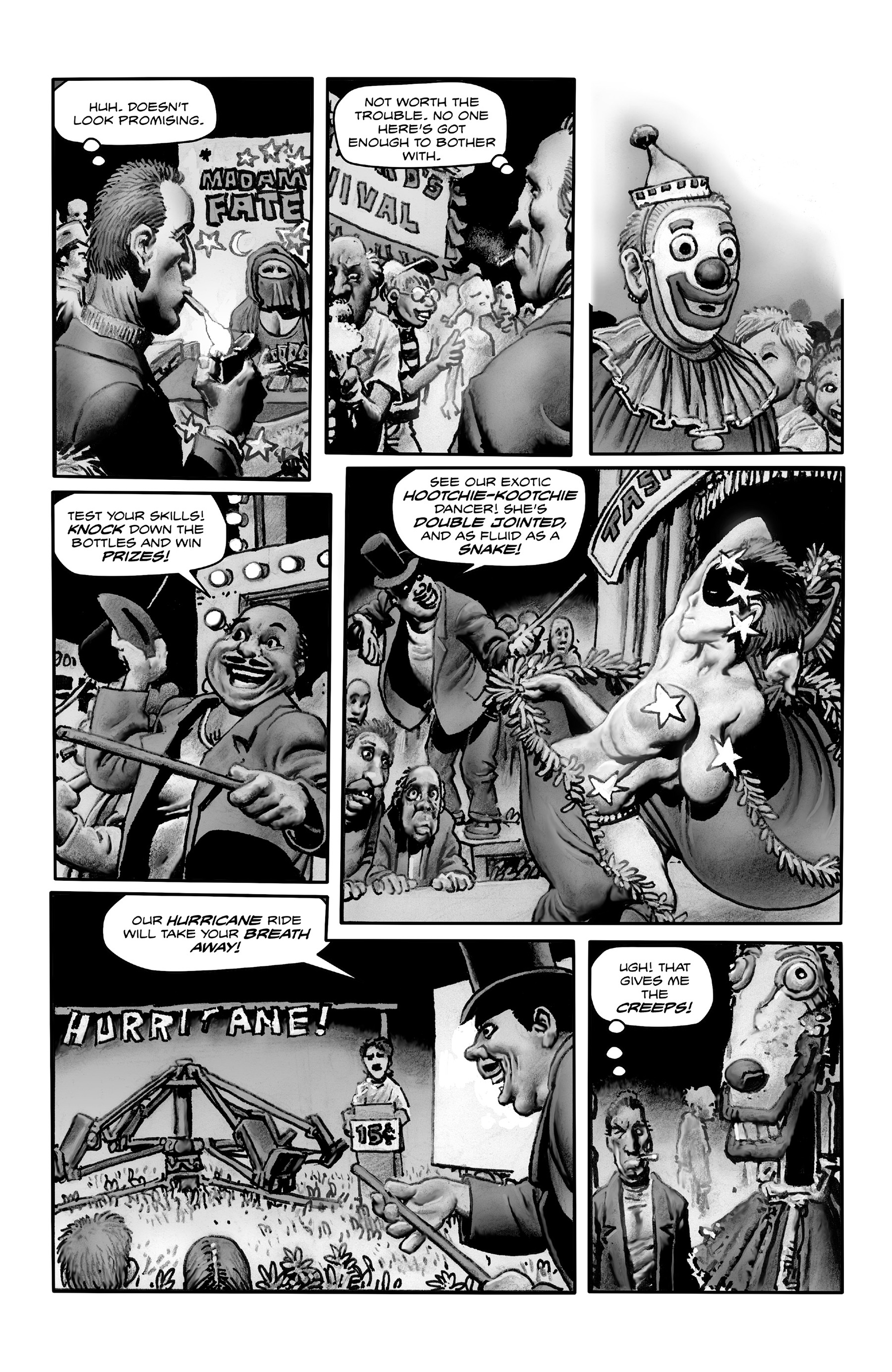 Read online Shadows on the Grave comic -  Issue #4 - 4