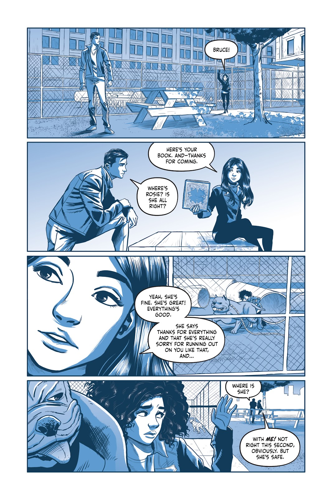 Read online Under the Moon: A Catwoman Tale comic -  Issue # TPB (Part 2) - 85
