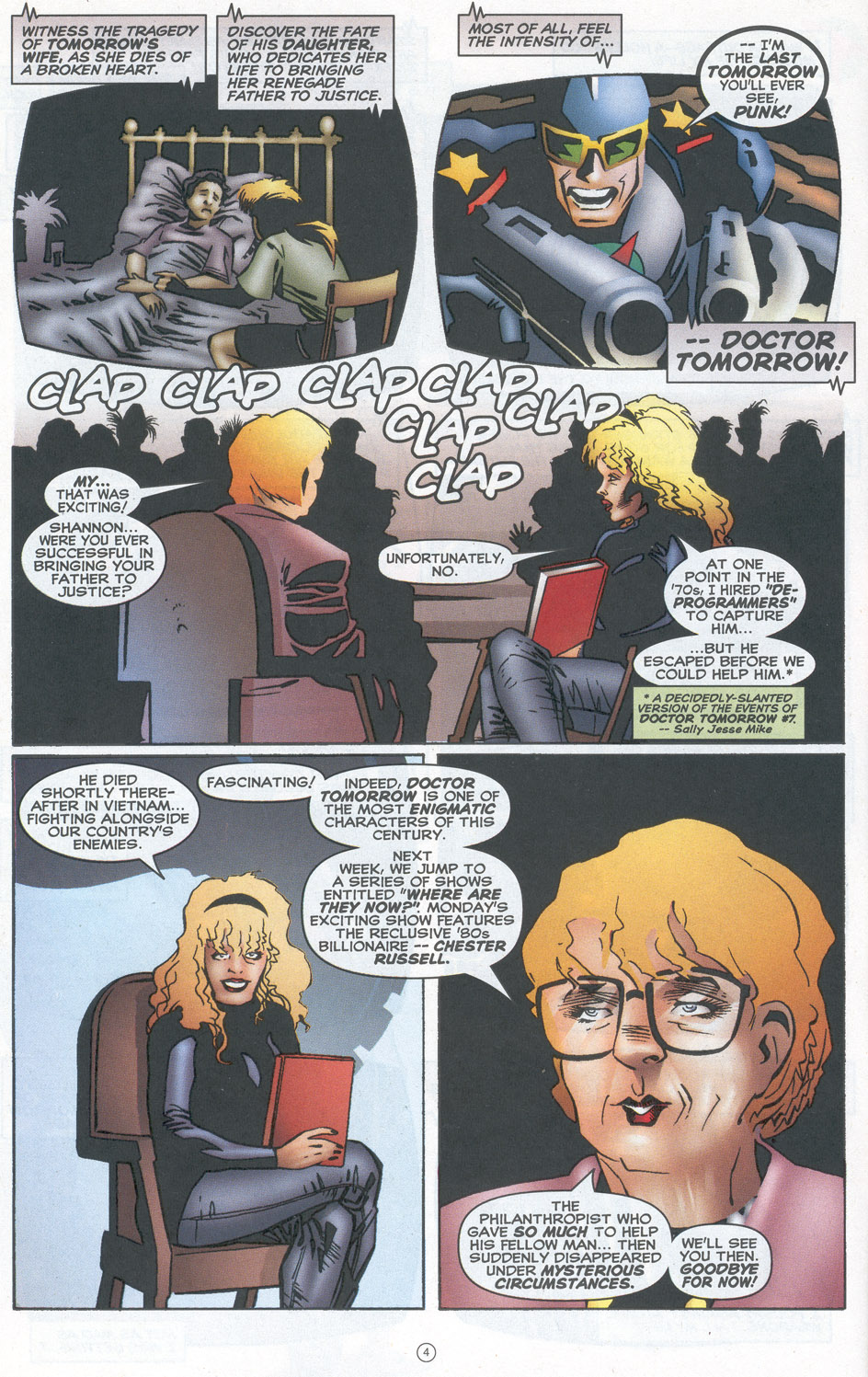 Read online Doctor Tomorrow comic -  Issue #10 - 5