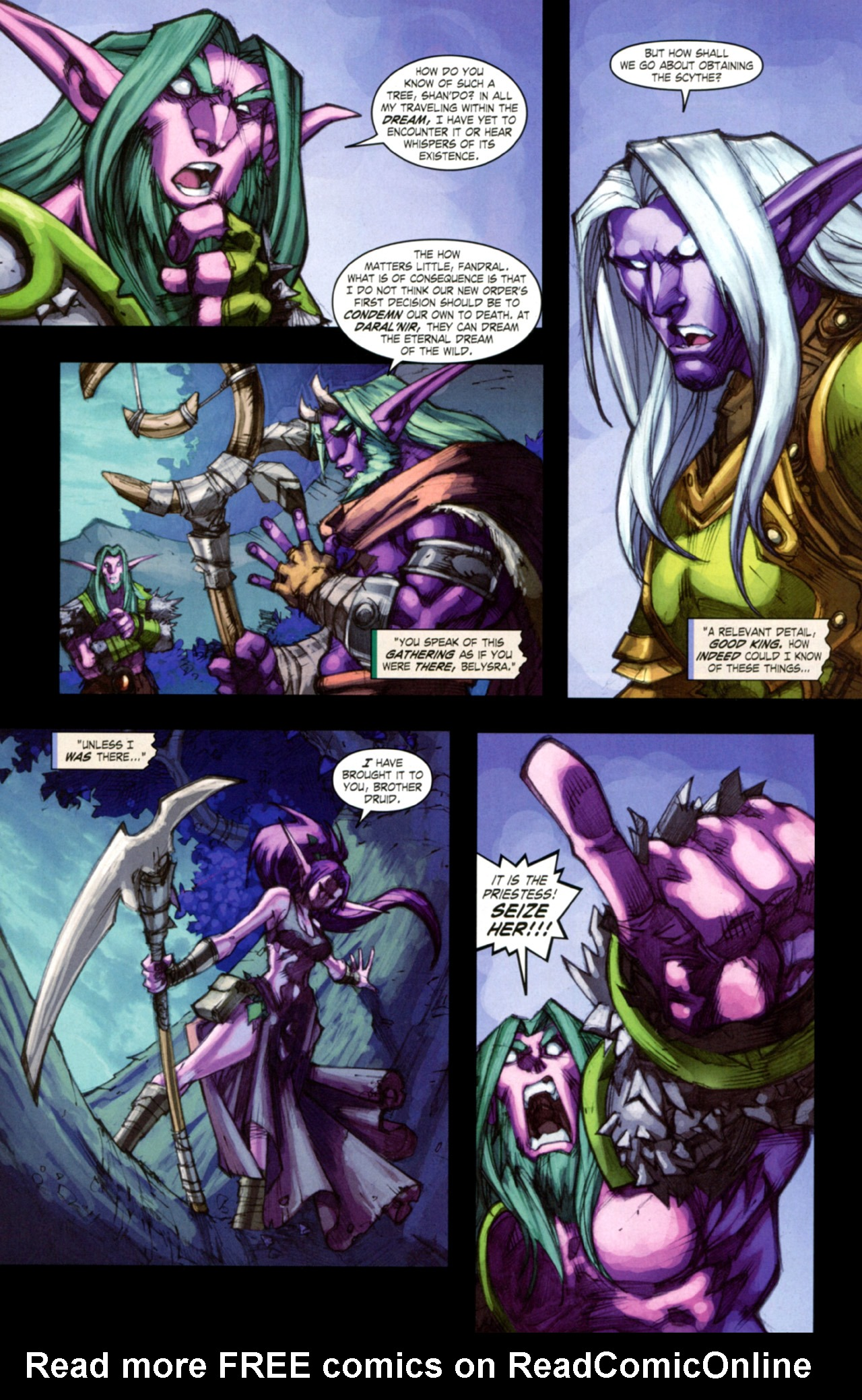 Read online World of Warcraft: Curse of the Worgen comic -  Issue #3 - 26