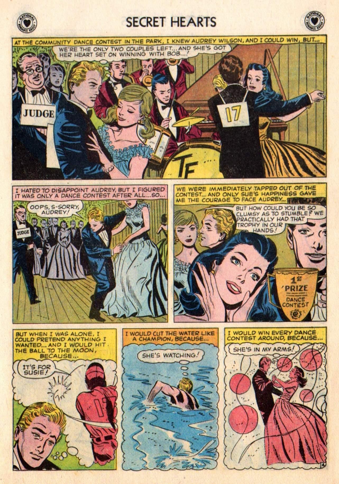 Read online Secret Hearts comic -  Issue #48 - 13