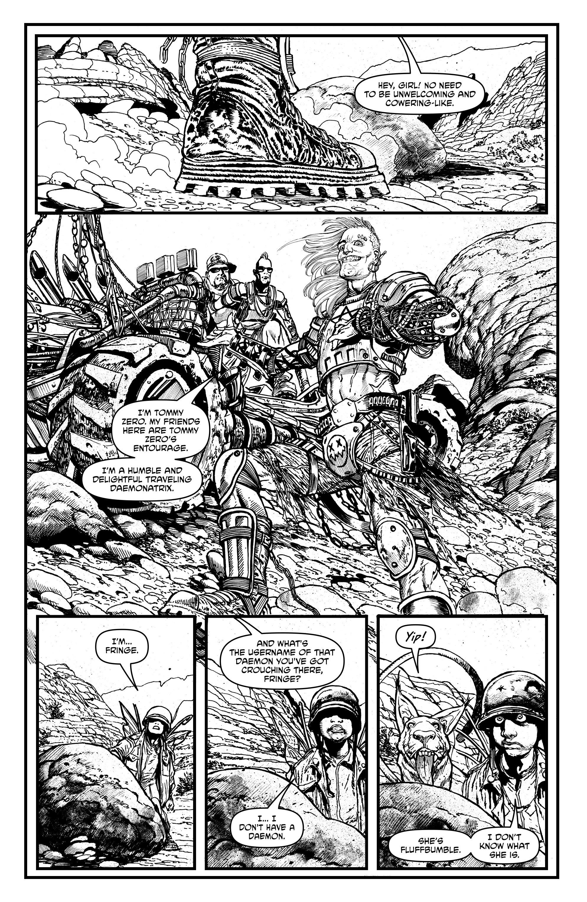 Read online Alan Moore's Cinema Purgatorio comic -  Issue #1 - 26