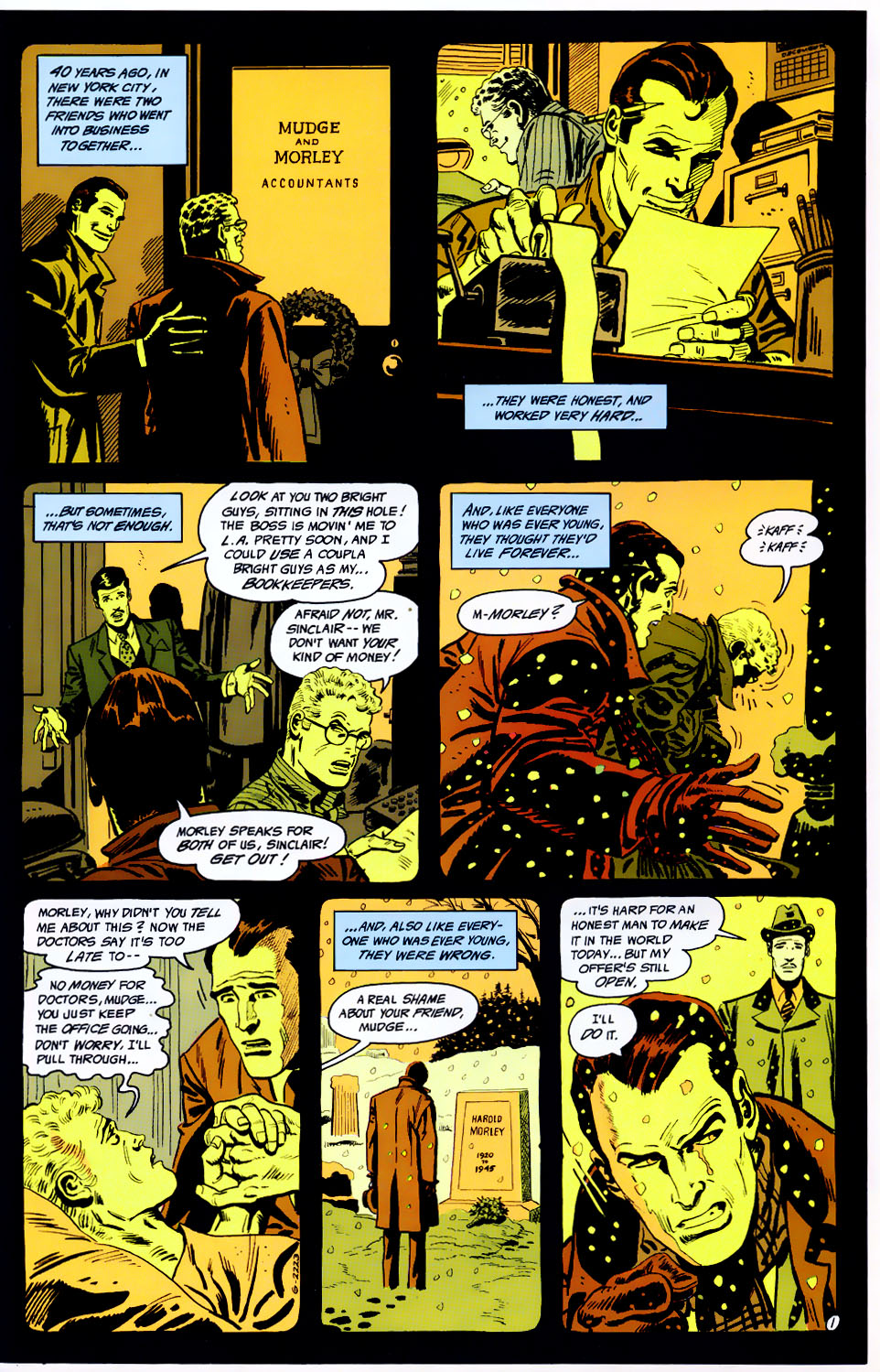 Read online Adventures of the Outsiders comic -  Issue #43 - 2