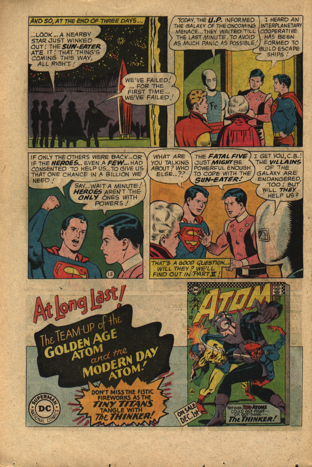 Read online Adventure Comics (1938) comic -  Issue #352 - 16
