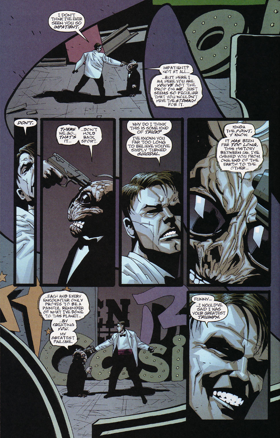 Wildcats (1999) Issue #10 #11 - English 7