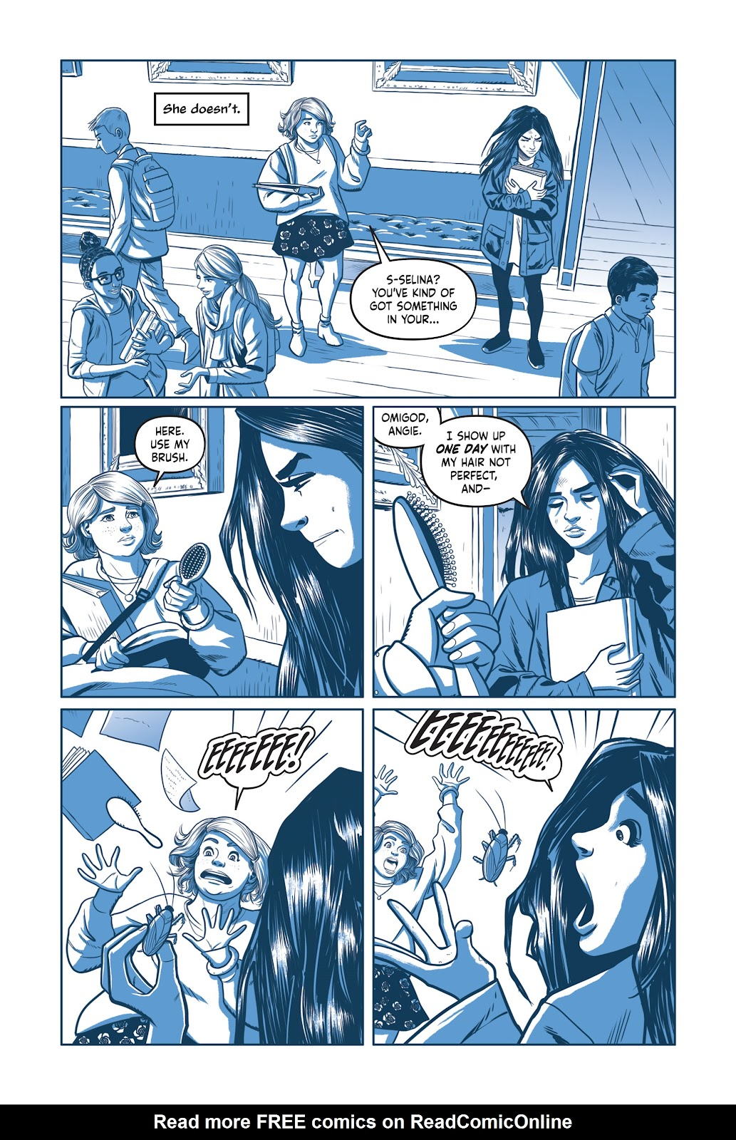 Read online Under the Moon: A Catwoman Tale comic -  Issue # TPB (Part 1) - 73