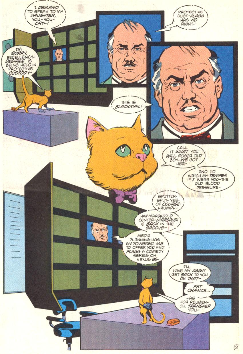 Read online American Flagg! comic -  Issue #13 - 4