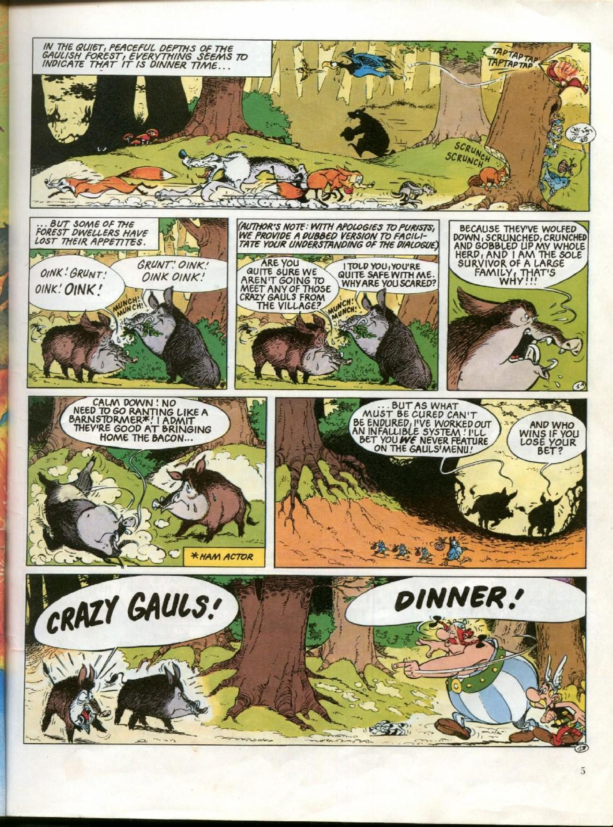 Read online Asterix comic -  Issue #26 - 2