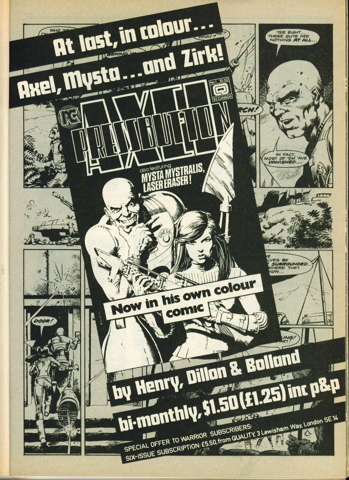 Warrior Issue #25 #26 - English 25