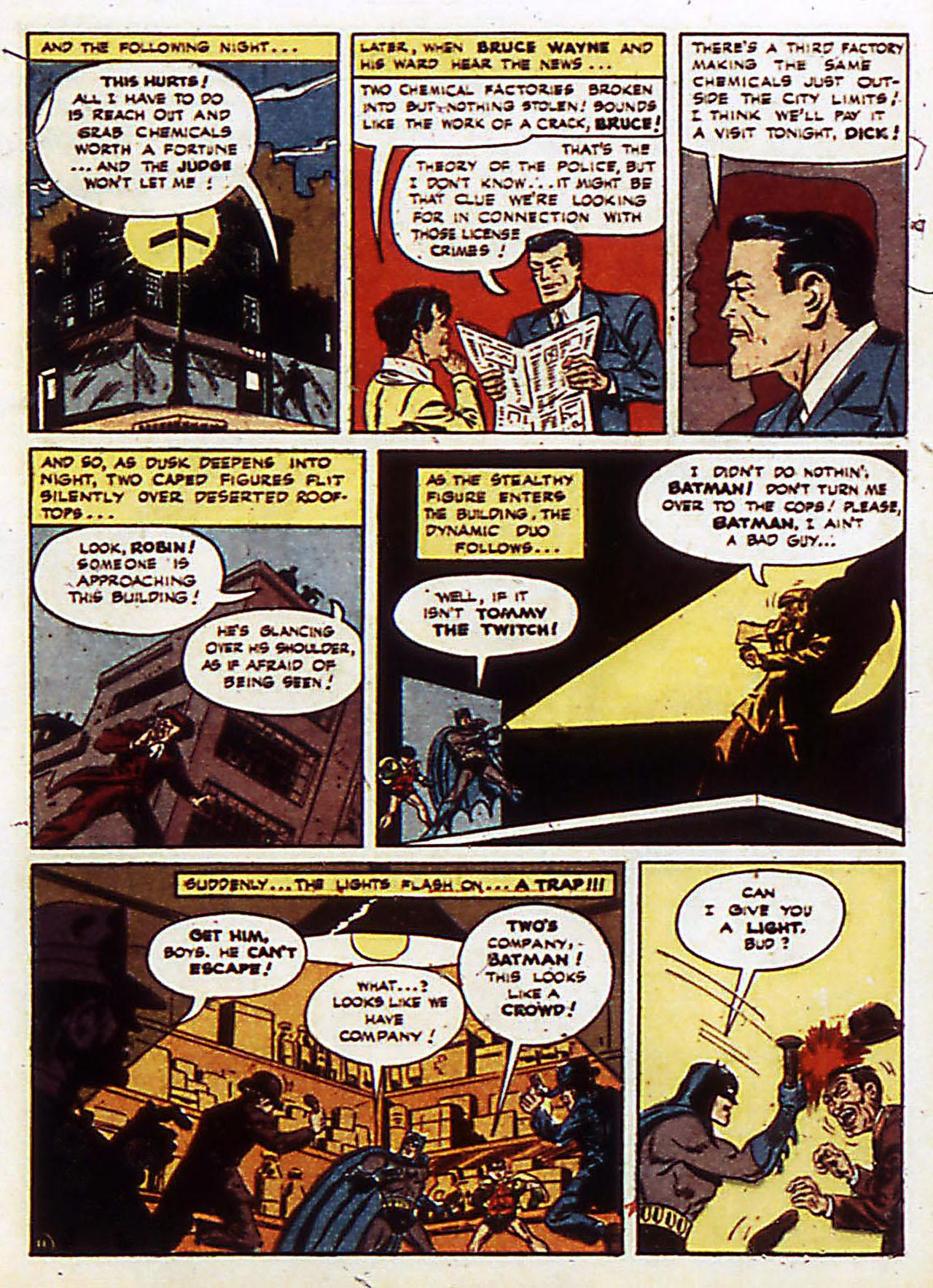 Read online Detective Comics (1937) comic -  Issue #72 - 14