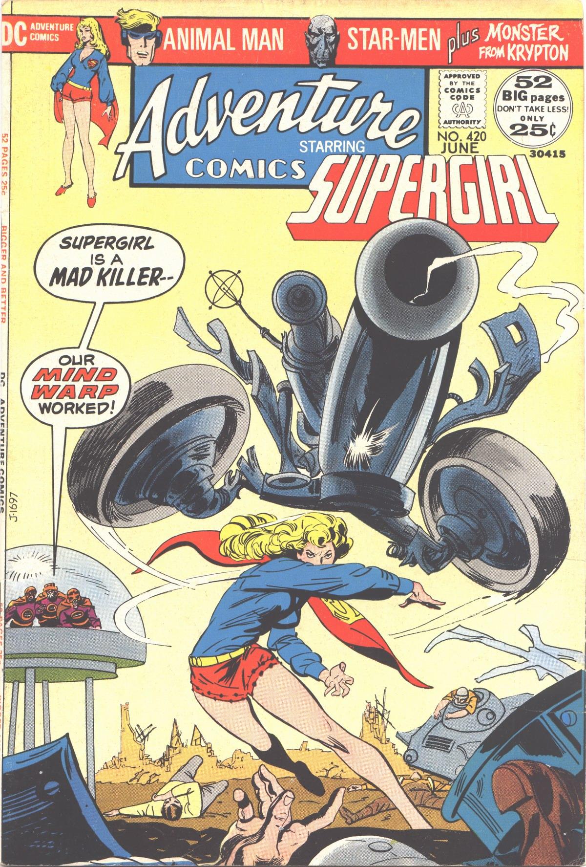 Read online Adventure Comics (1938) comic -  Issue #420 - 1