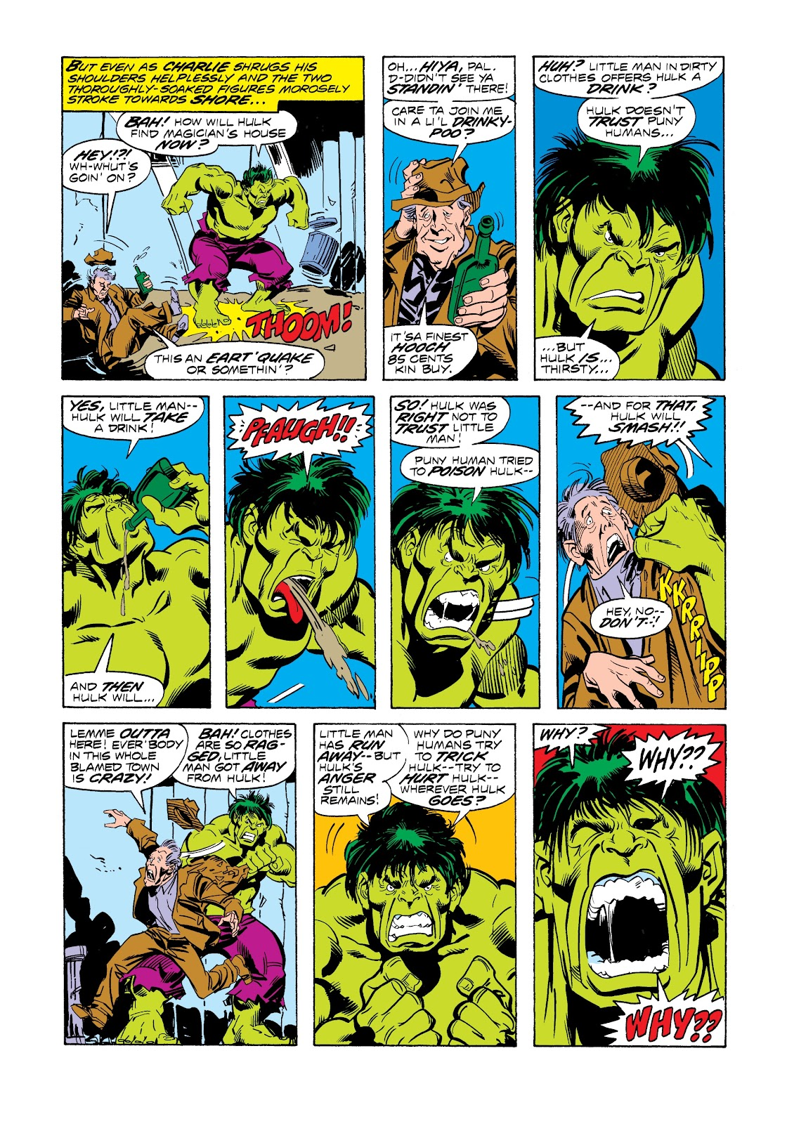 Read online Marvel Masterworks: The Incredible Hulk comic -  Issue # TPB 12 (Part 3) - 18