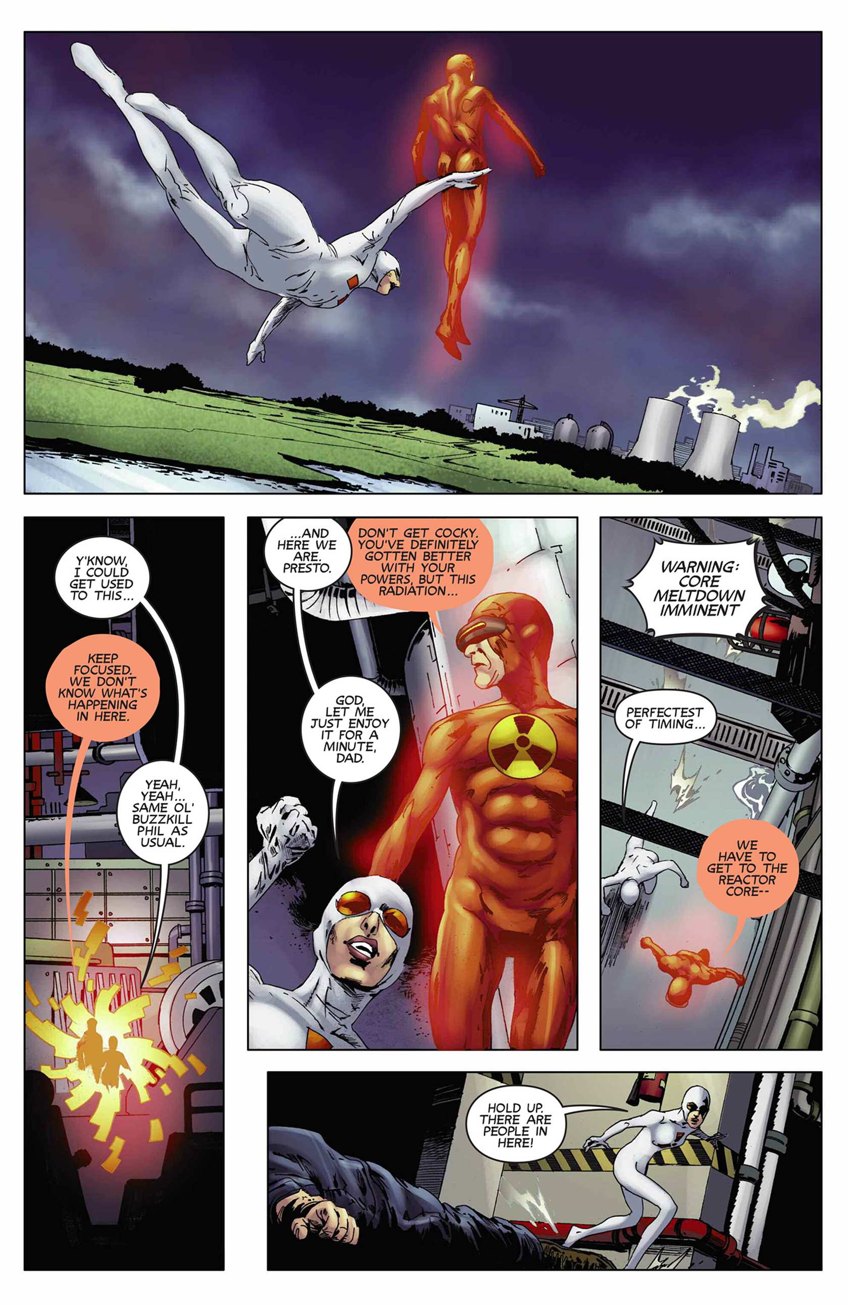 Read online Solar: Man of the Atom (2014) comic -  Issue #9 - 16