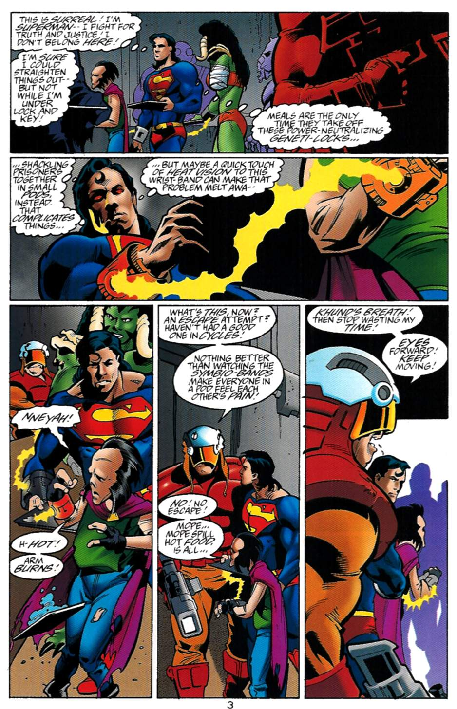 Read online Adventures of Superman (1987) comic -  Issue #529 - 4