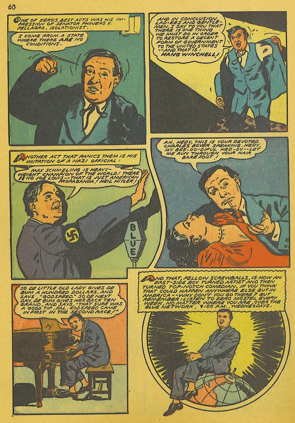 Read online Super-Magician Comics comic -  Issue #10 - 60