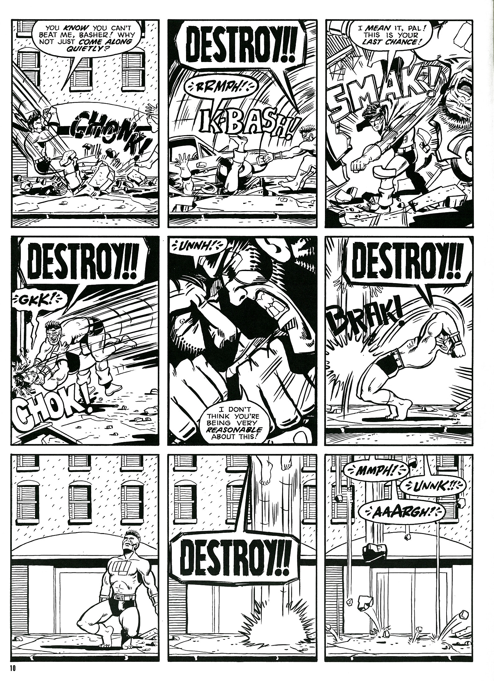 Read online Destroy!! comic -  Issue # Full - 12