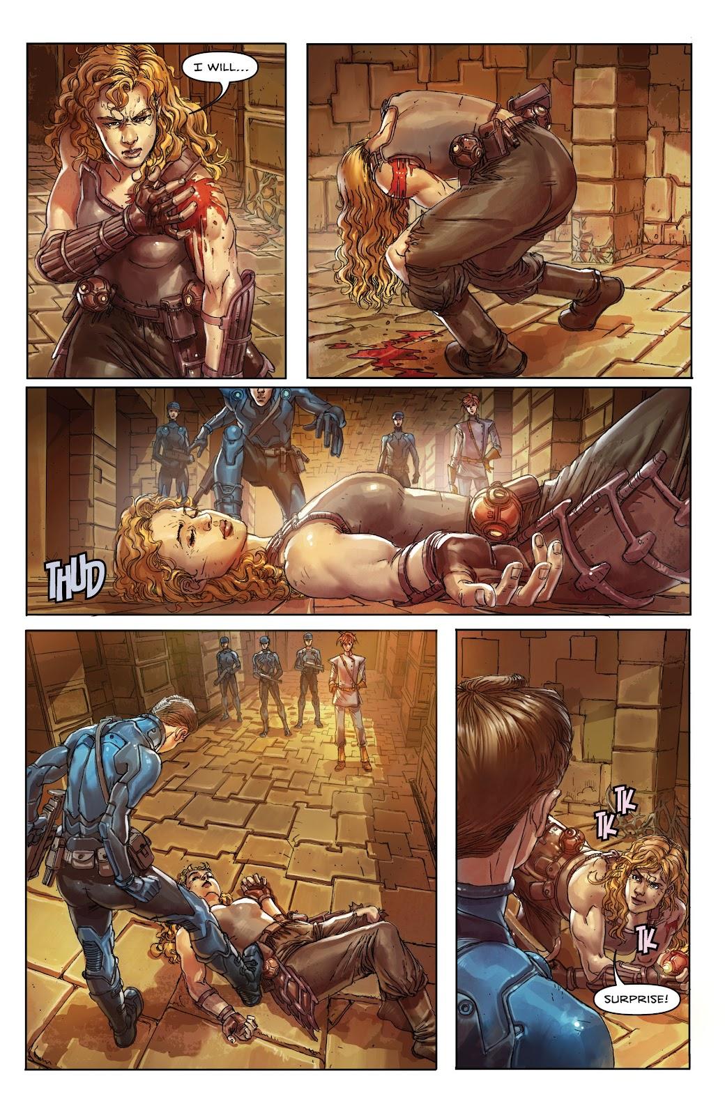 Read online Taarna comic -  Issue #4 - 7