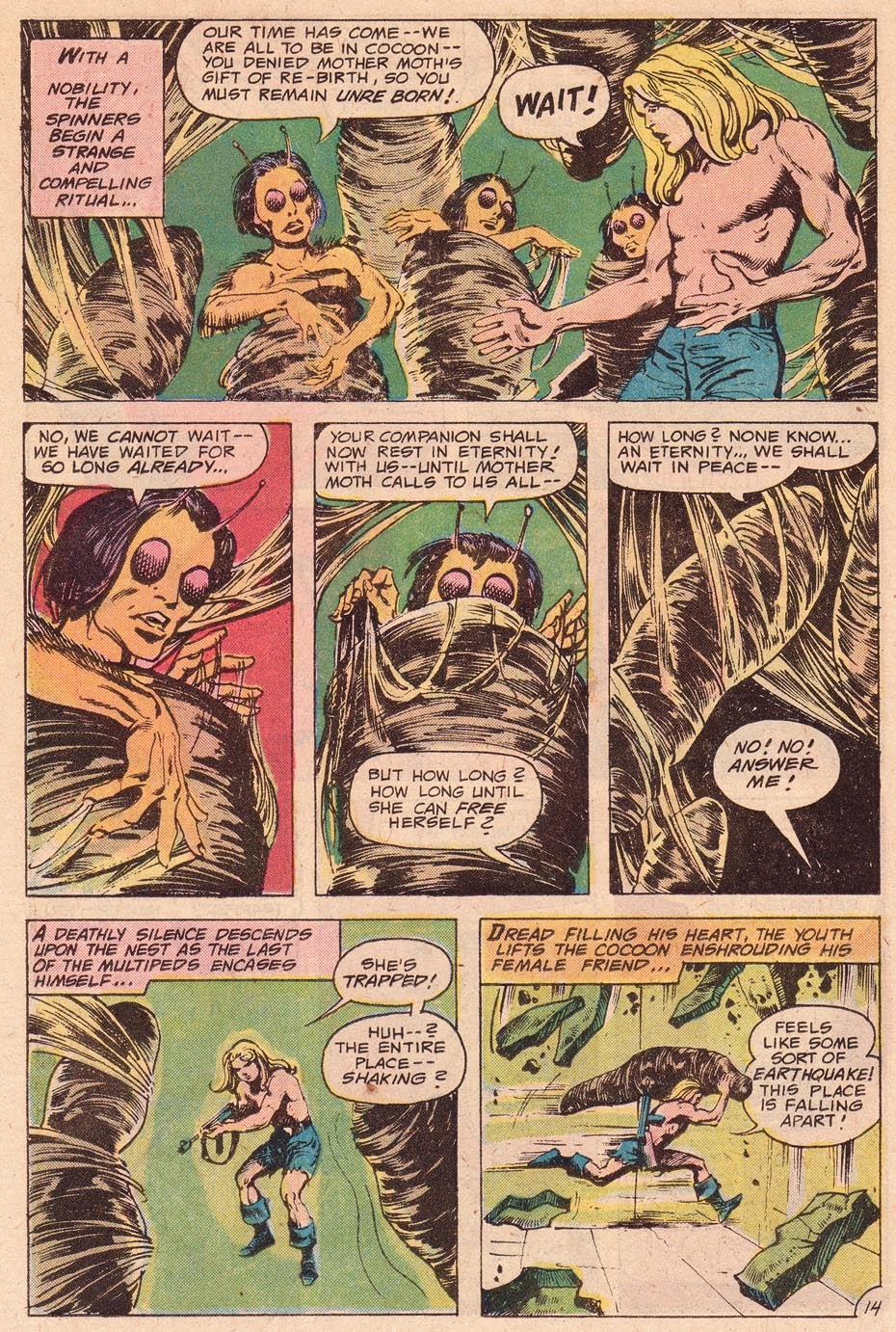 Kamandi, The Last Boy On Earth issue 54 - Page 16