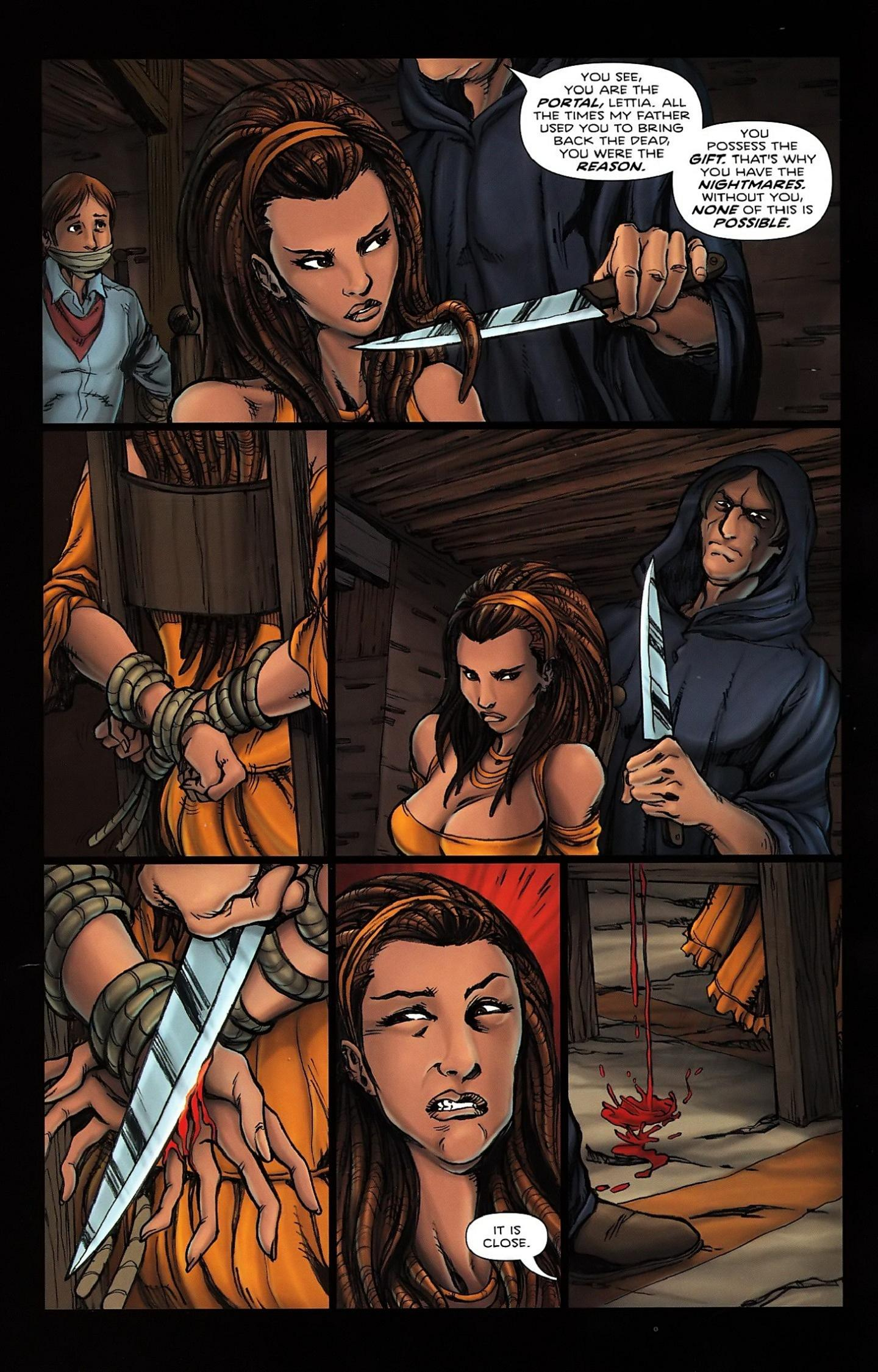 Read online Salem's Daughter: The Haunting comic -  Issue #5 - 15