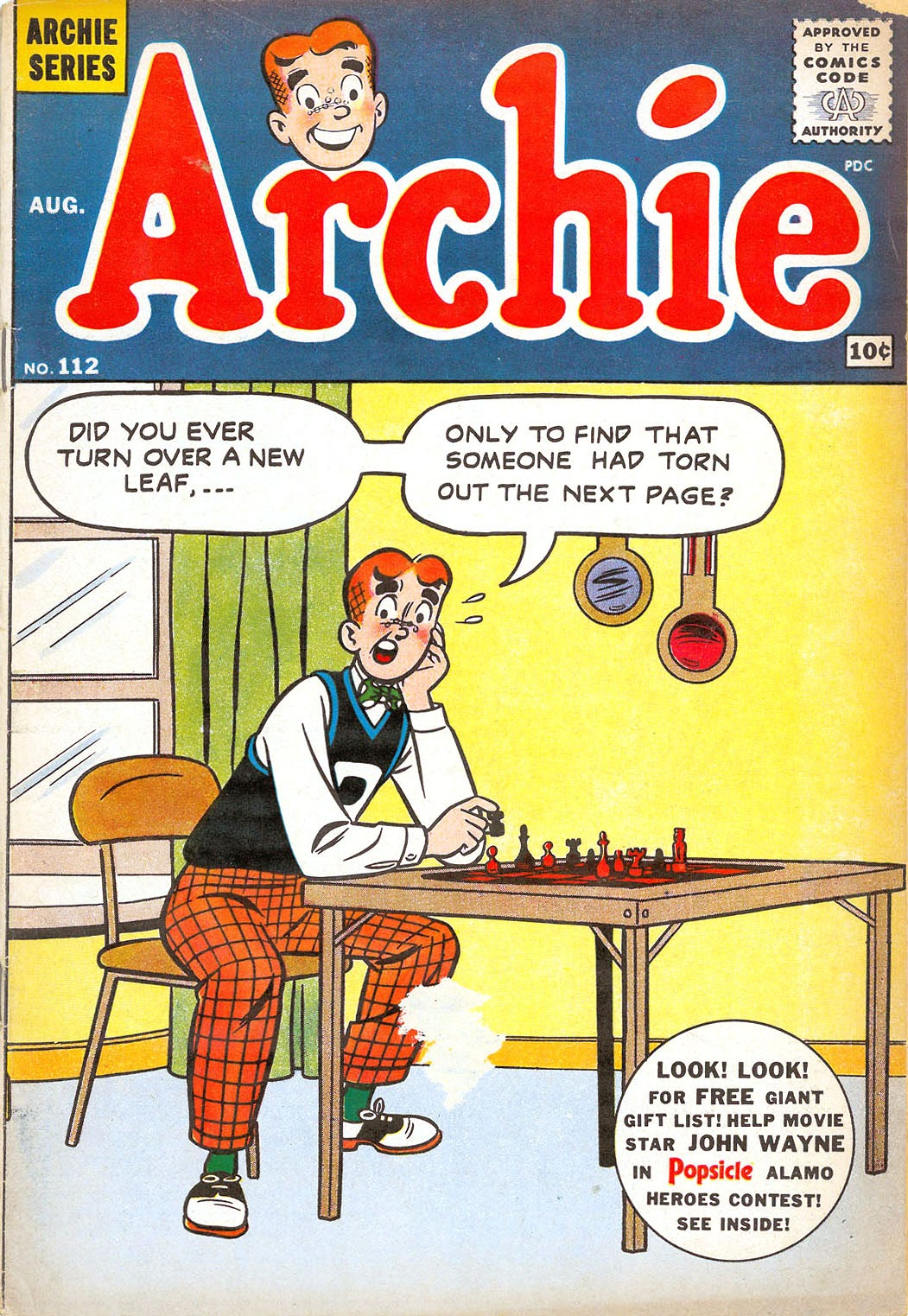 Archie Comics issue 112 - Page 1
