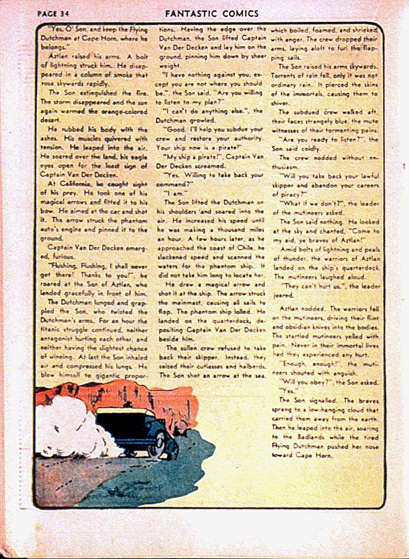 Read online Fantastic Comics comic -  Issue #13 - 37
