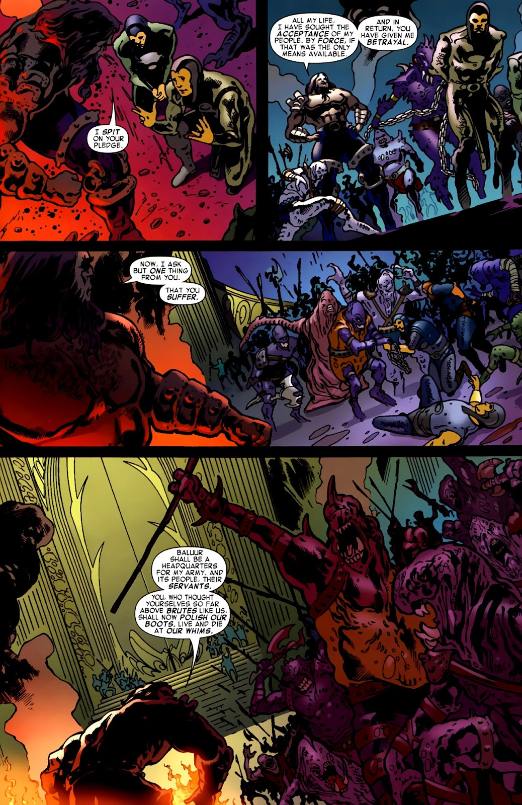 War of Kings: Warriors Issue #1 #1 - English 33