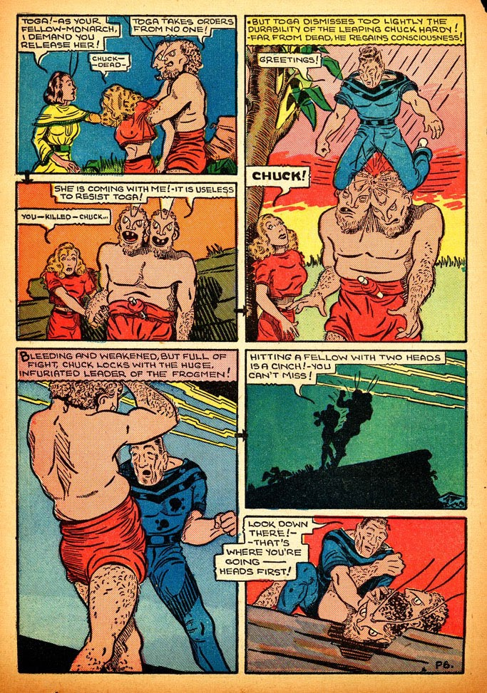 Read online Amazing Man Comics comic -  Issue #12 - 48