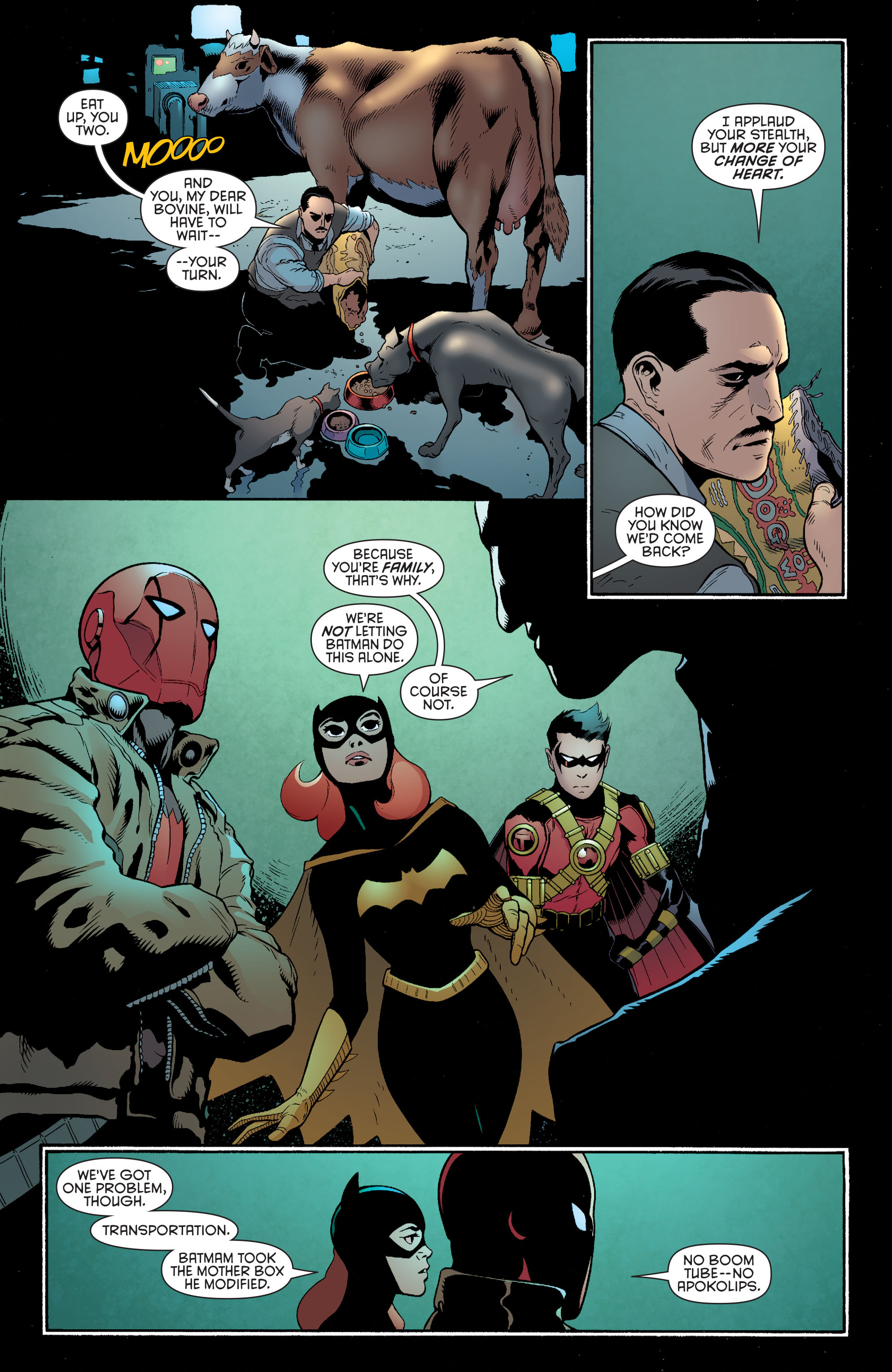 Read online Batman and Robin (2011) comic -  Issue #35 - 7