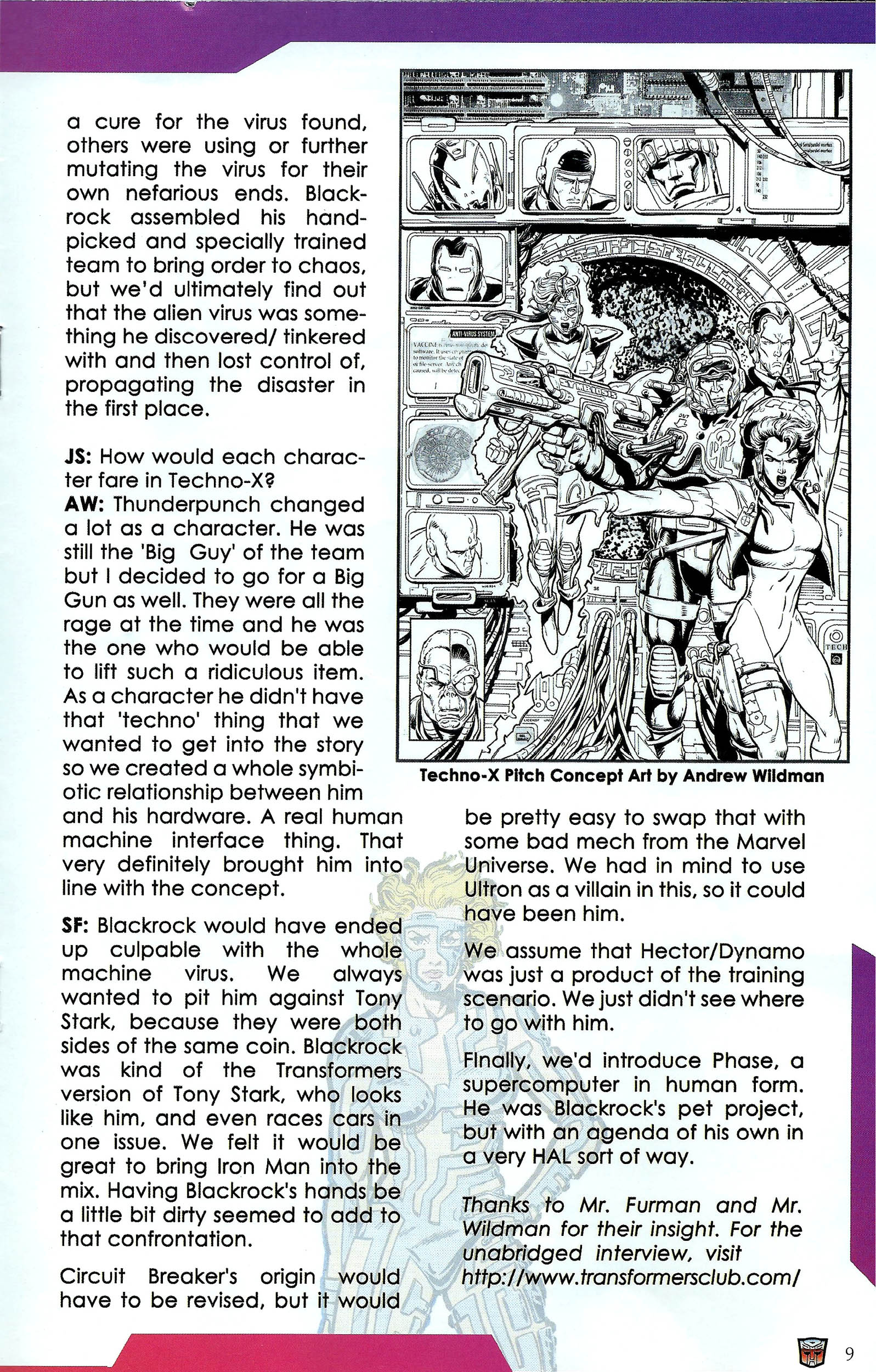 Read online Transformers: Collectors' Club comic -  Issue #41 - 9