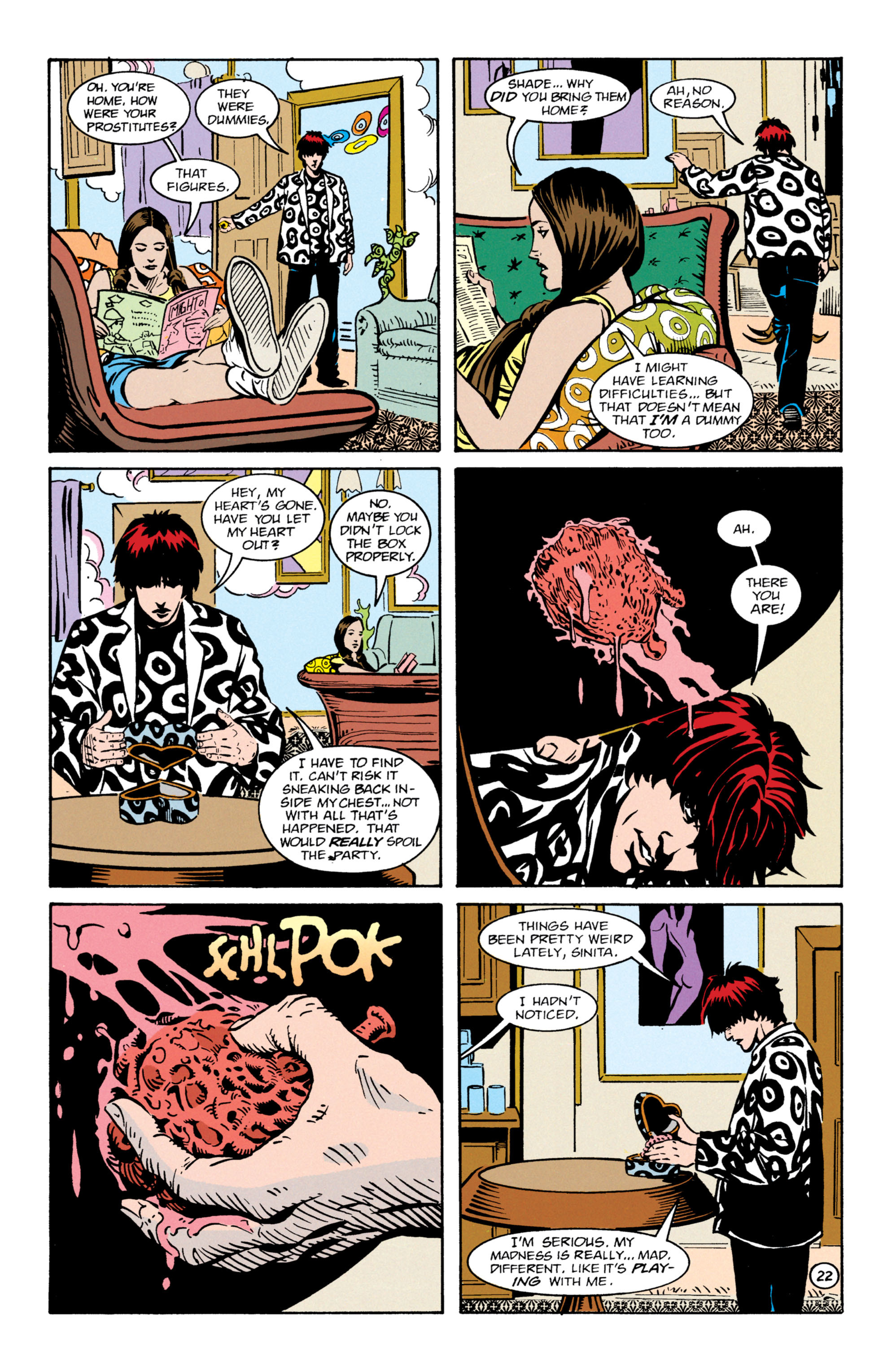 Read online Shade, the Changing Man comic -  Issue #64 - 23