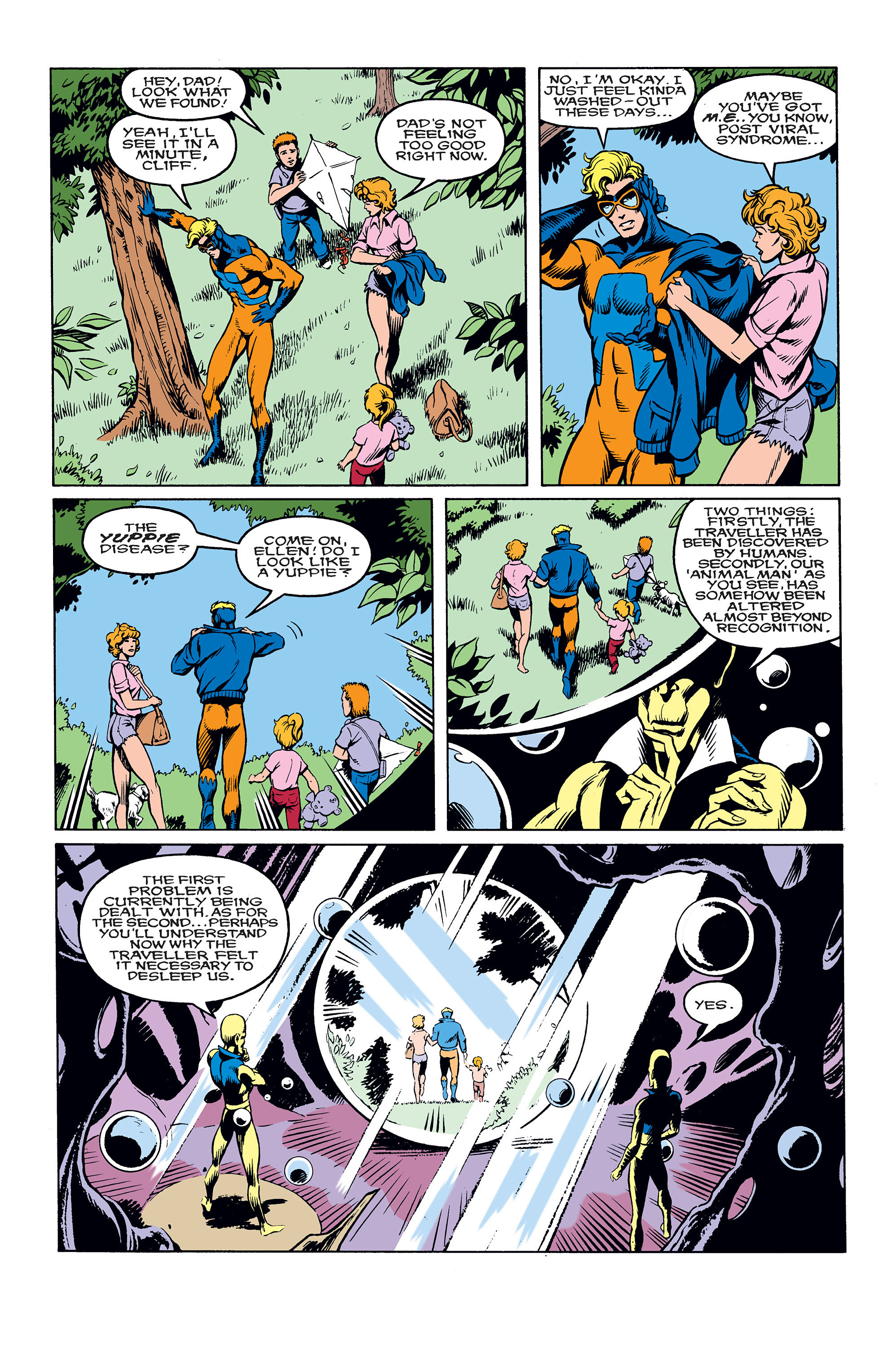 Read online Animal Man (1988) comic -  Issue #10 - 7