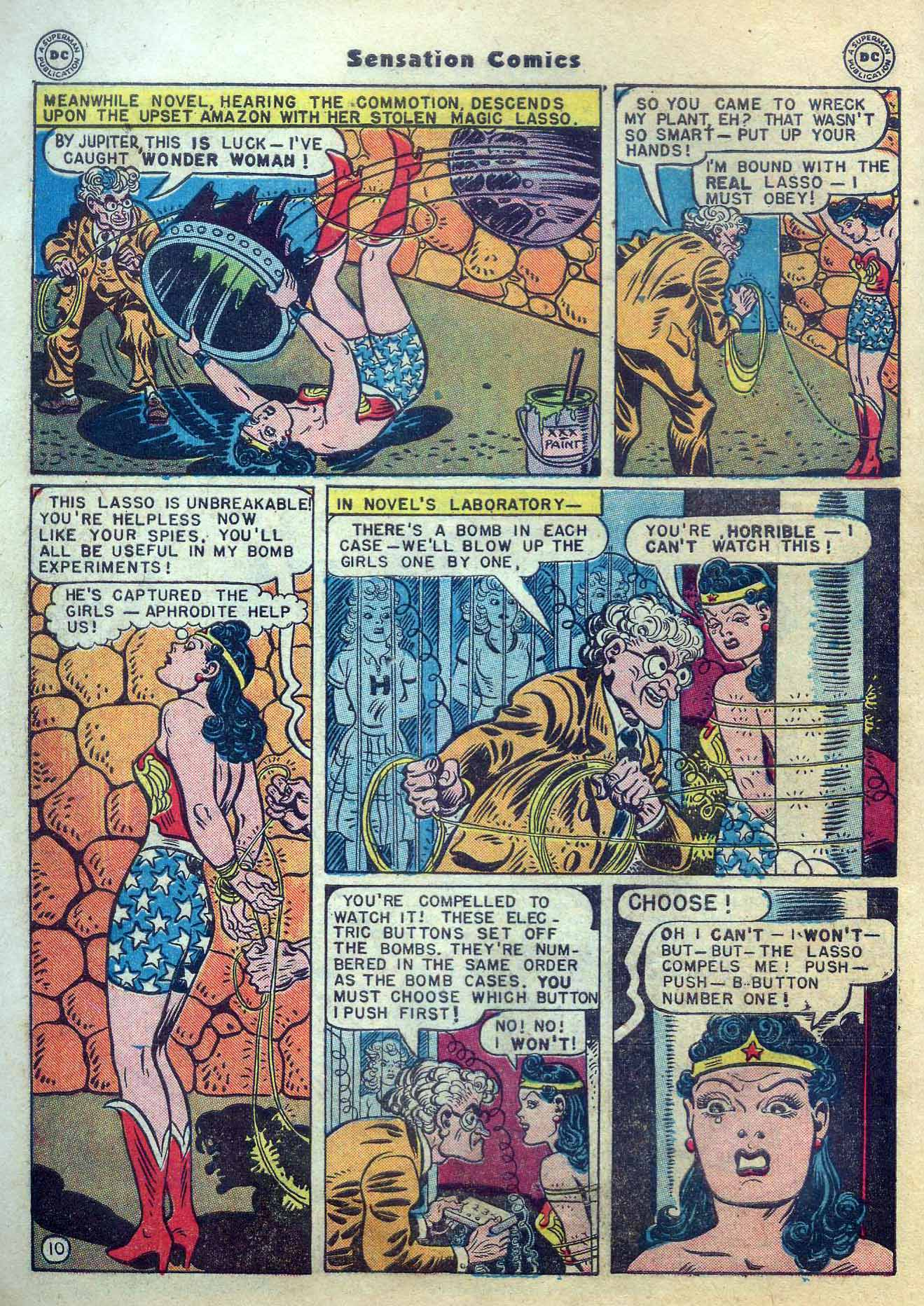 Read online Sensation (Mystery) Comics comic -  Issue #56 - 12