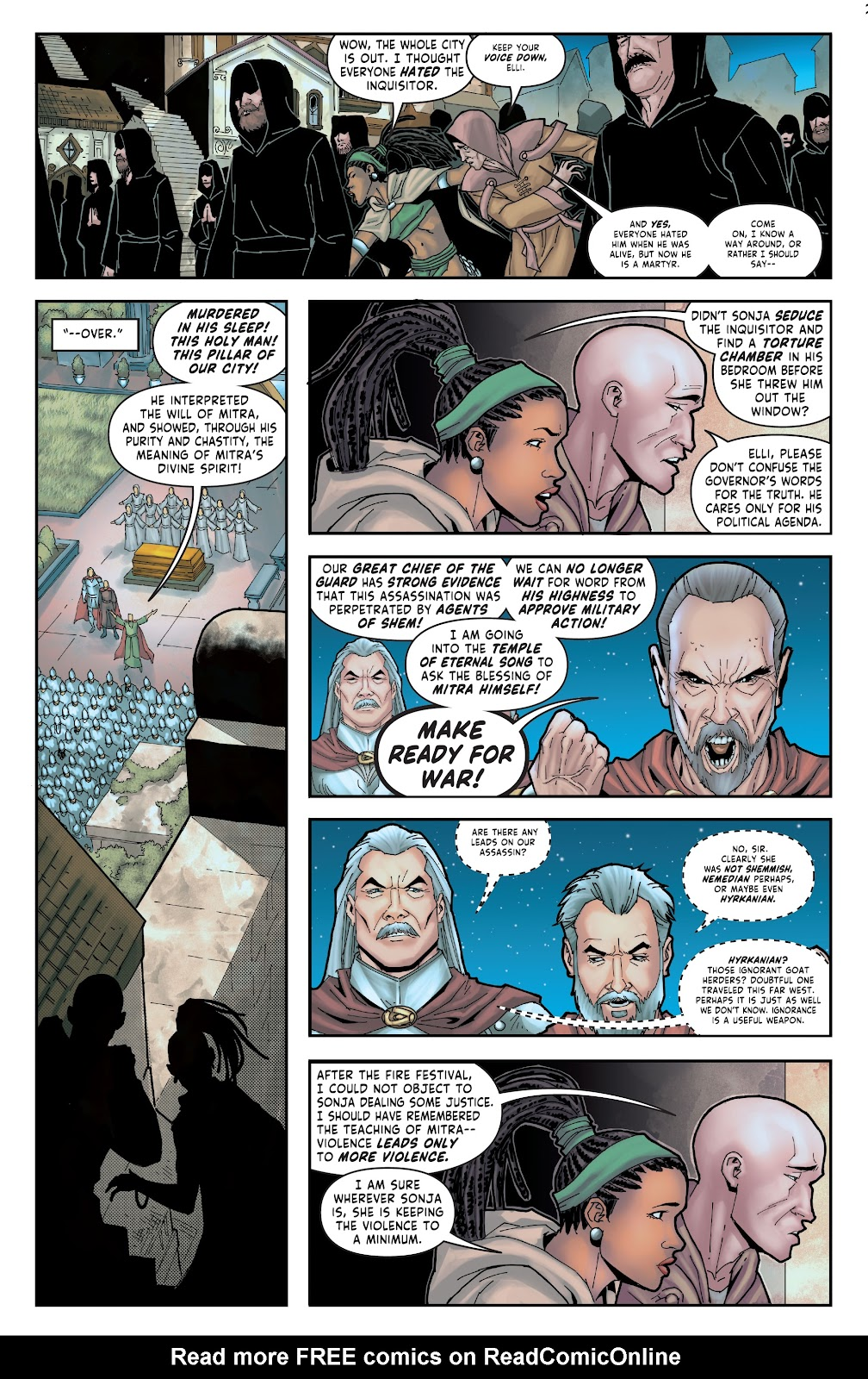 Red Sonja: The Price of Blood issue 2 - Page 13