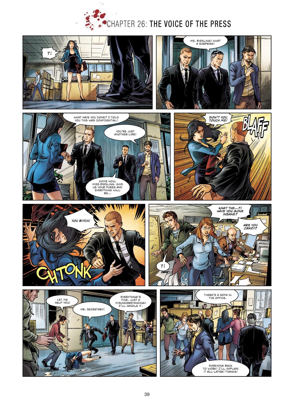 Read online Vigilantes comic -  Issue #4 - 39
