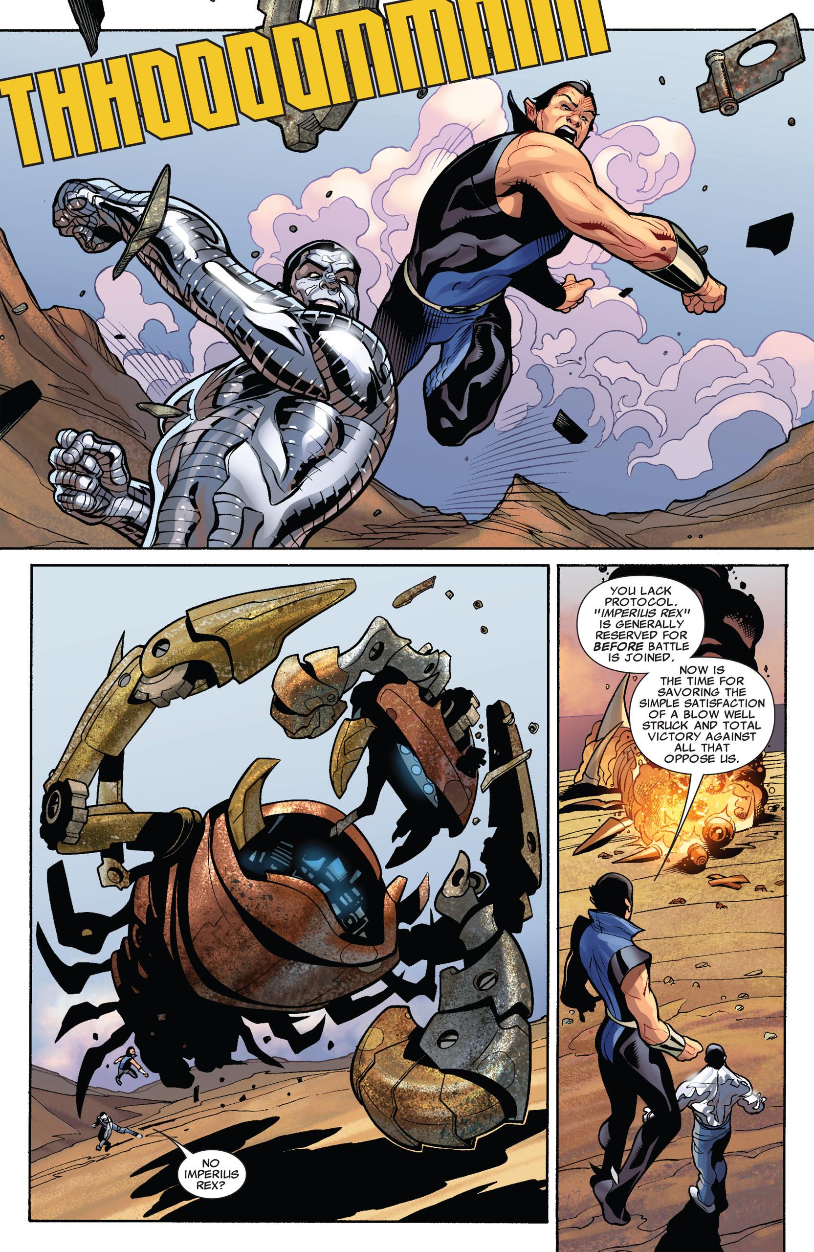 Read online Uncanny X-Men (1963) comic -  Issue #535 - 8