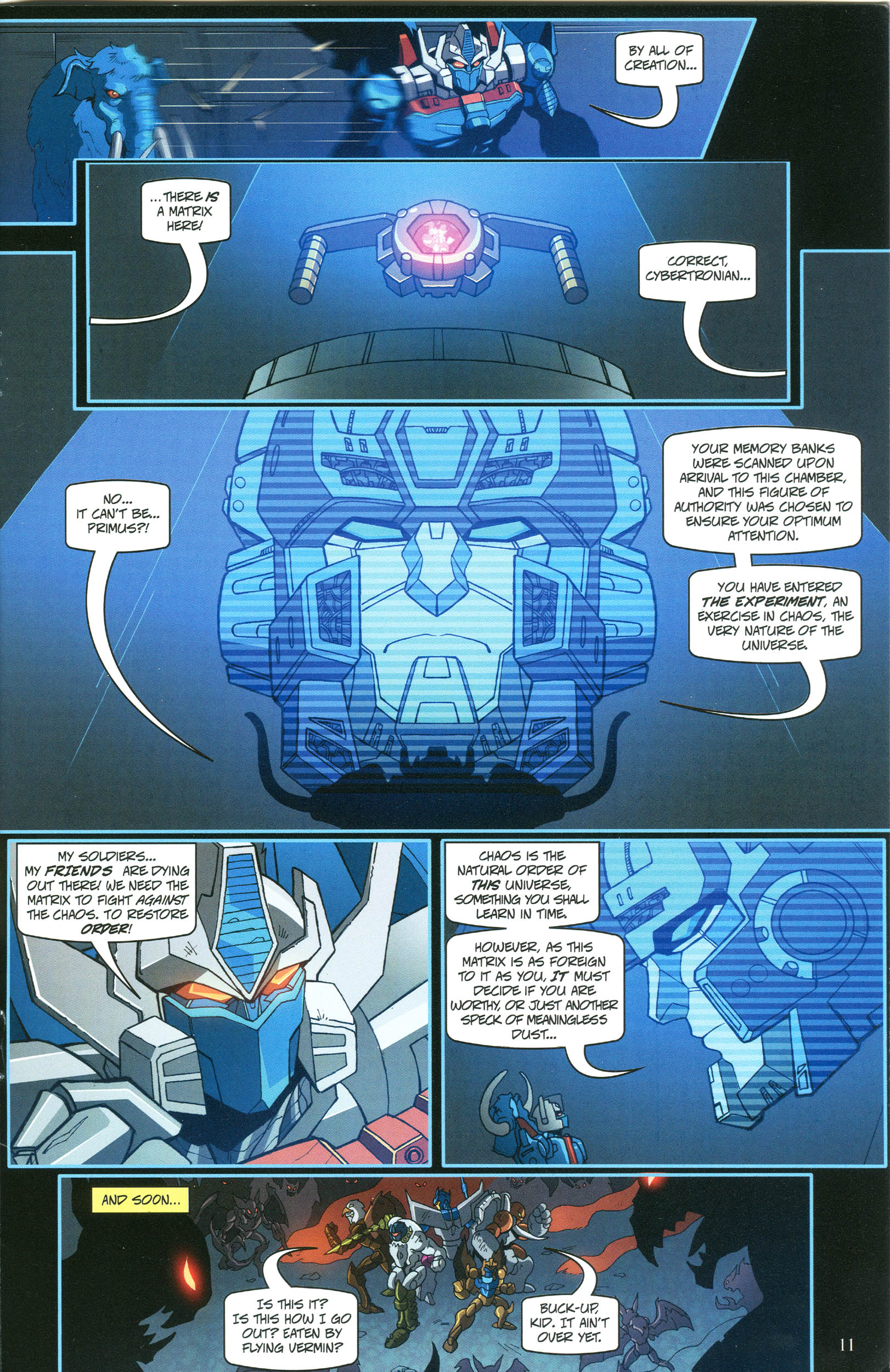 Read online Transformers: Collectors' Club comic -  Issue #53 - 11