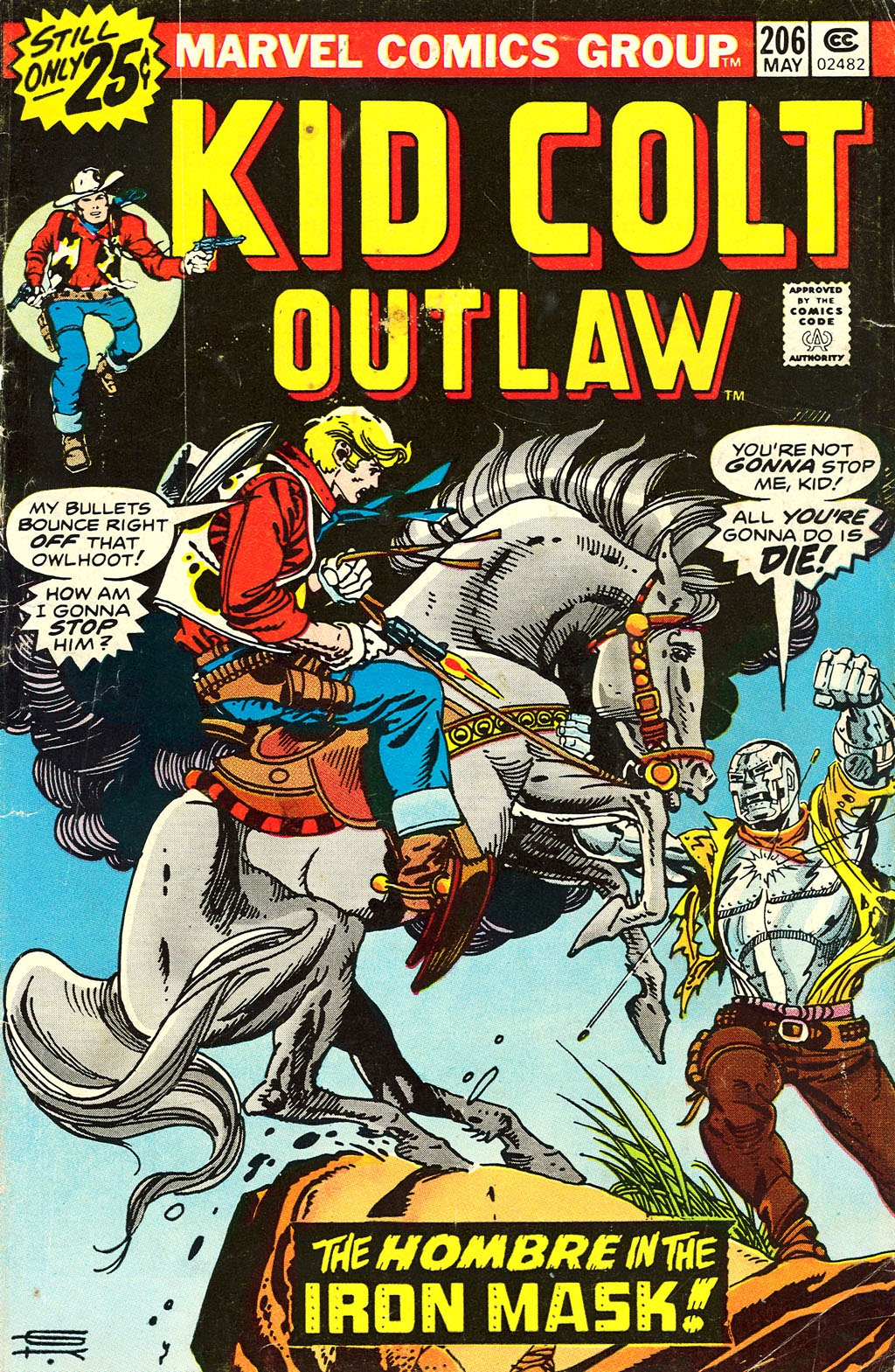 Kid Colt Outlaw issue 206 - Page 1