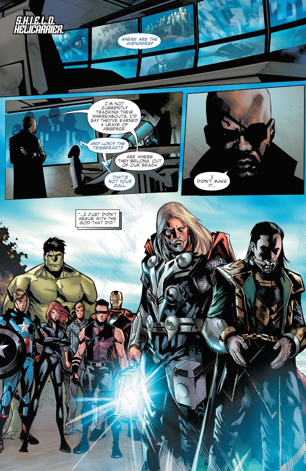 Read online Marvel's The Avengers comic -  Issue #2 - 20