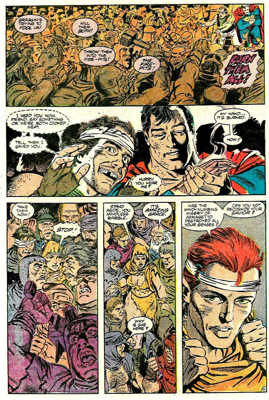 Read online Adventures of Superman (1987) comic -  Issue #426 - 7