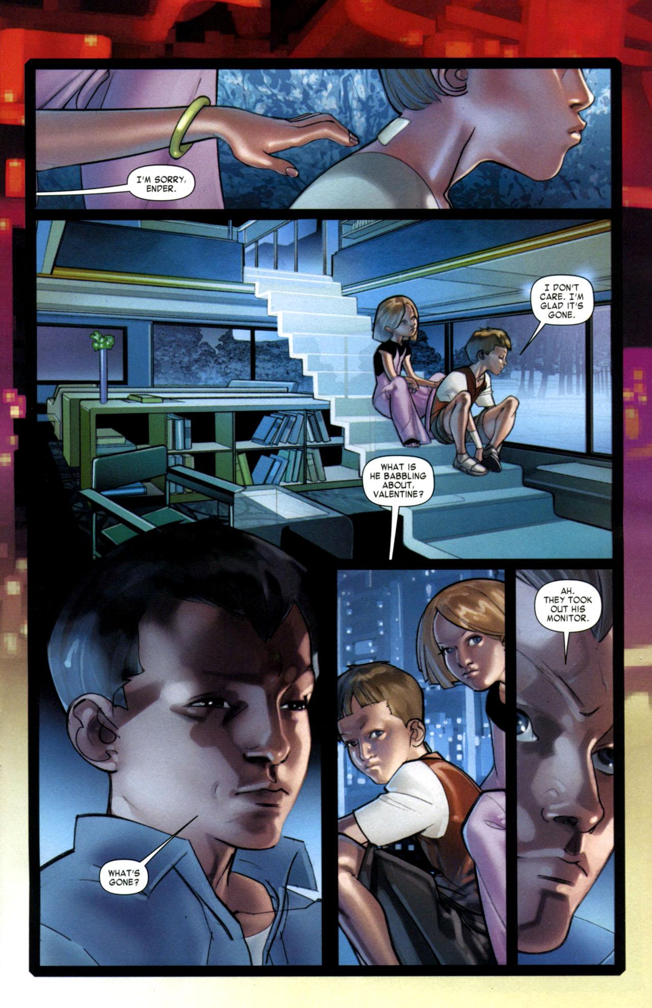 Read online Ender's Game: Battle School comic -  Issue #1 - 13