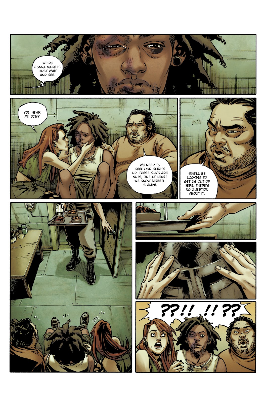 Read online Millennium: The Girl Who Danced With Death comic -  Issue #3 - 17