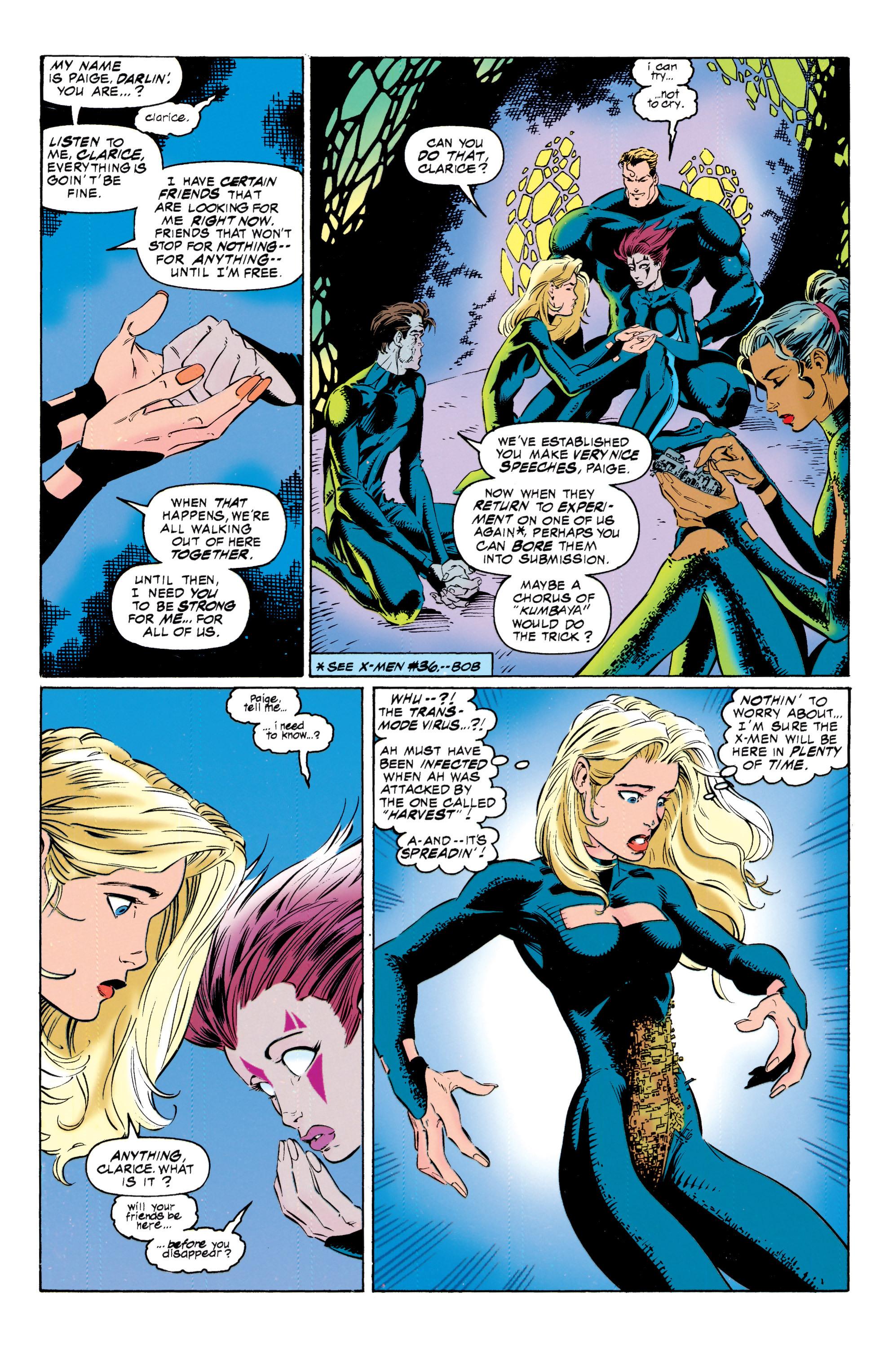 Read online Uncanny X-Men (1963) comic -  Issue #317 - 6