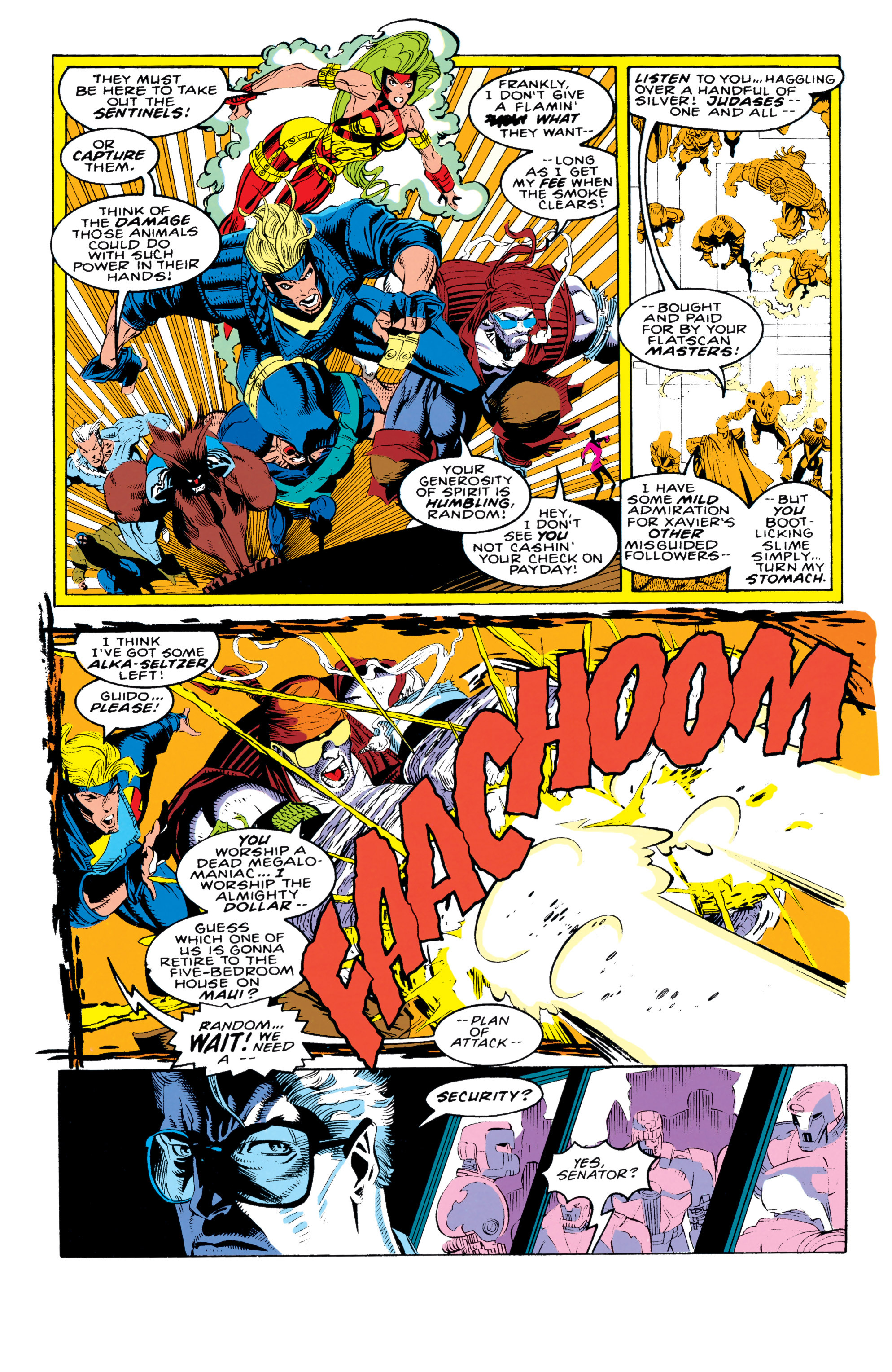 Read online X-Factor (1986) comic -  Issue #92 - 23