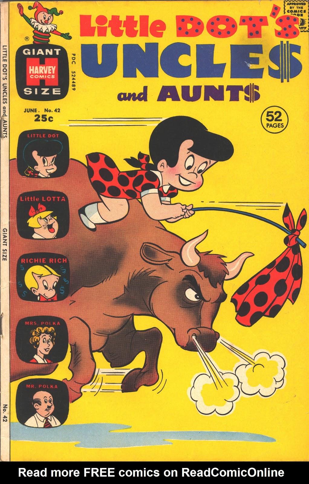 Little Dots Uncles and Aunts 42 Page 1