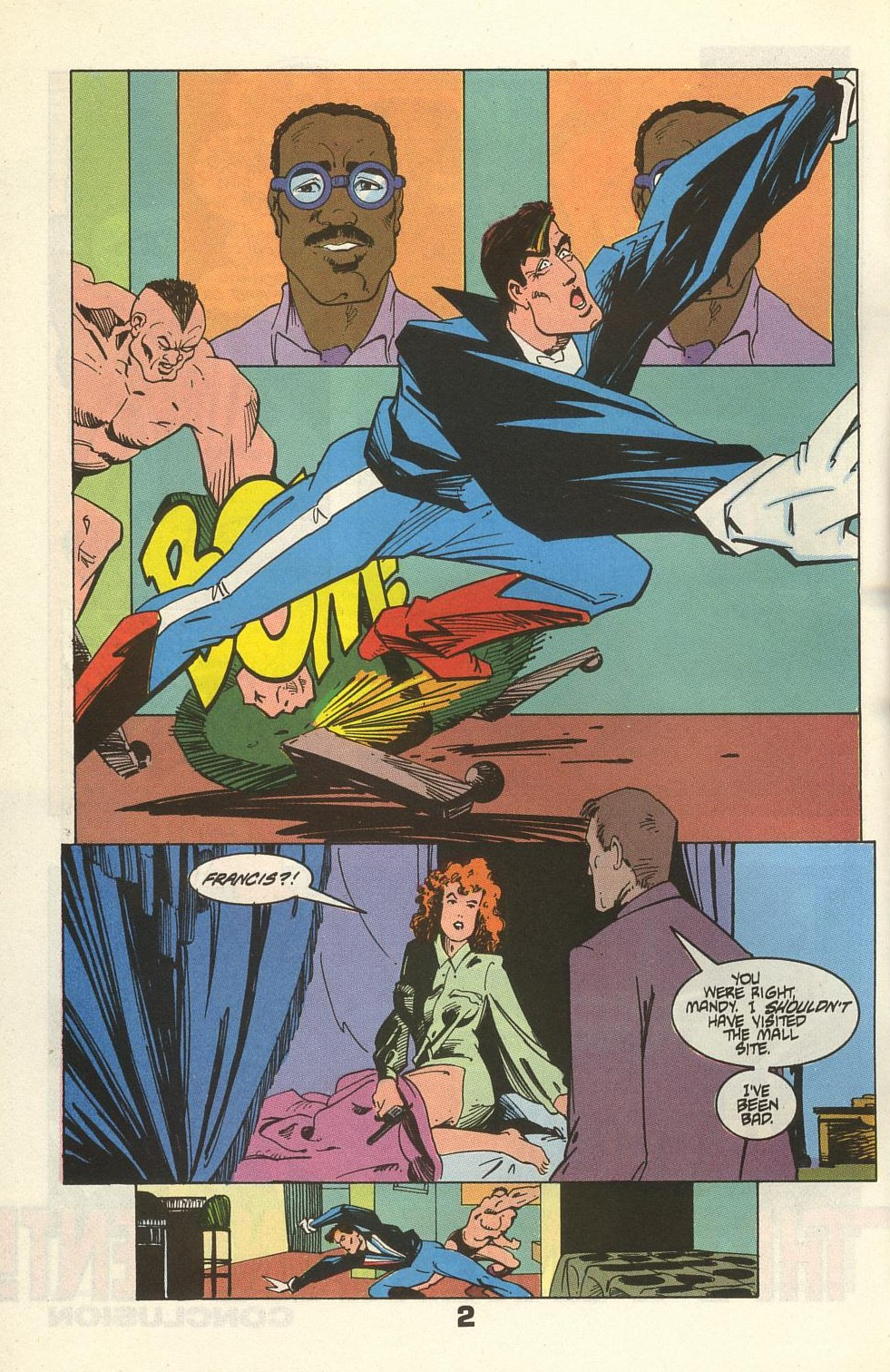 Read online American Flagg! comic -  Issue #34 - 4