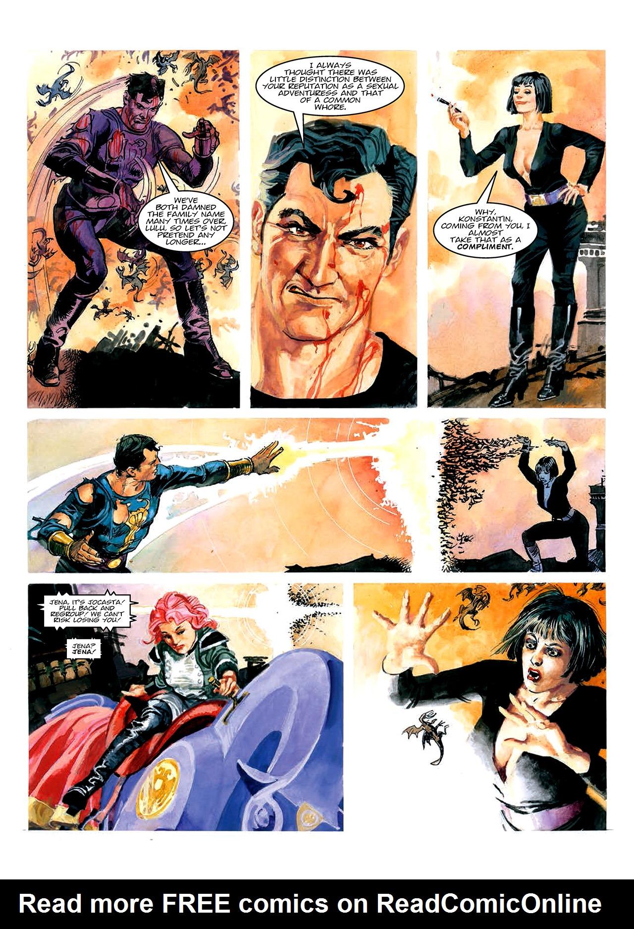 Read online Nikolai Dante comic -  Issue # TPB 10 - 69