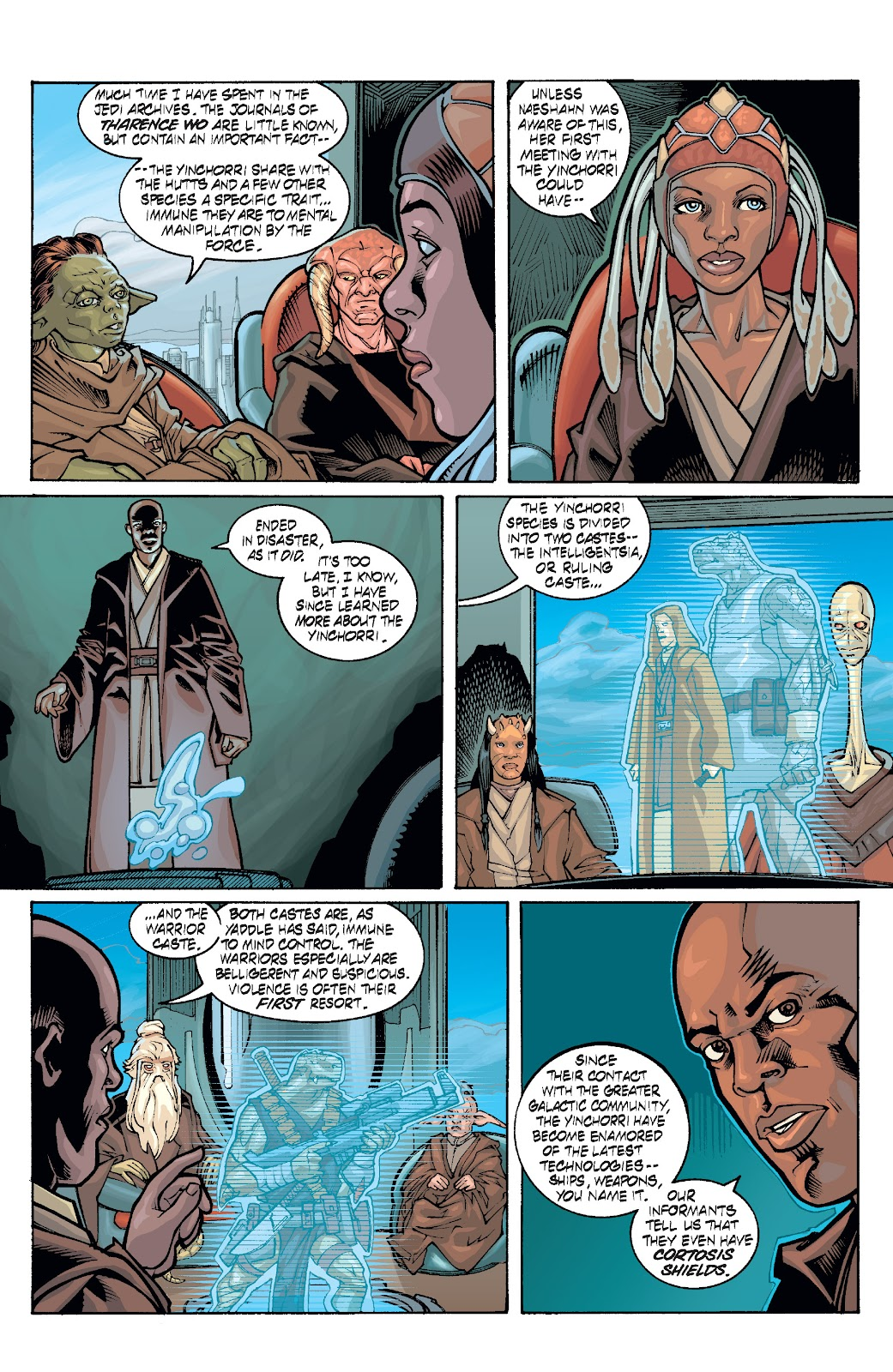 Read online Star Wars Legends: Rise of the Sith - Epic Collection comic -  Issue # TPB 1 (Part 4) - 72